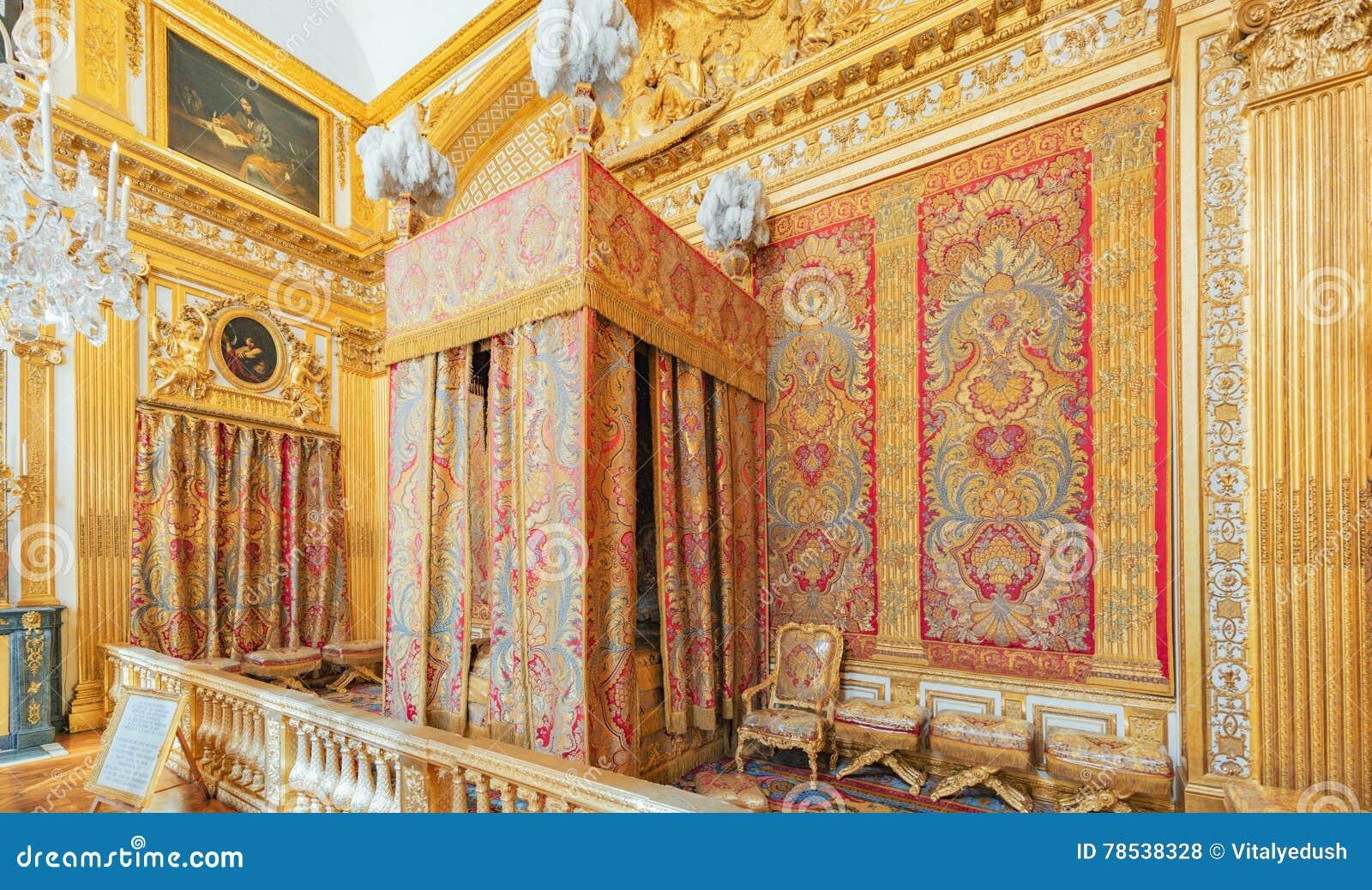 Chambre à Coucher Du ` S De Roi Photo stock éditorial - Image du ...