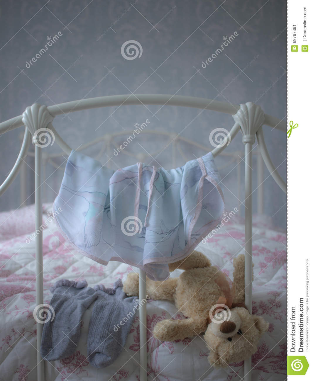 Chambre A Coucher Girly Image Stock Image Du Chaussettes 69797391