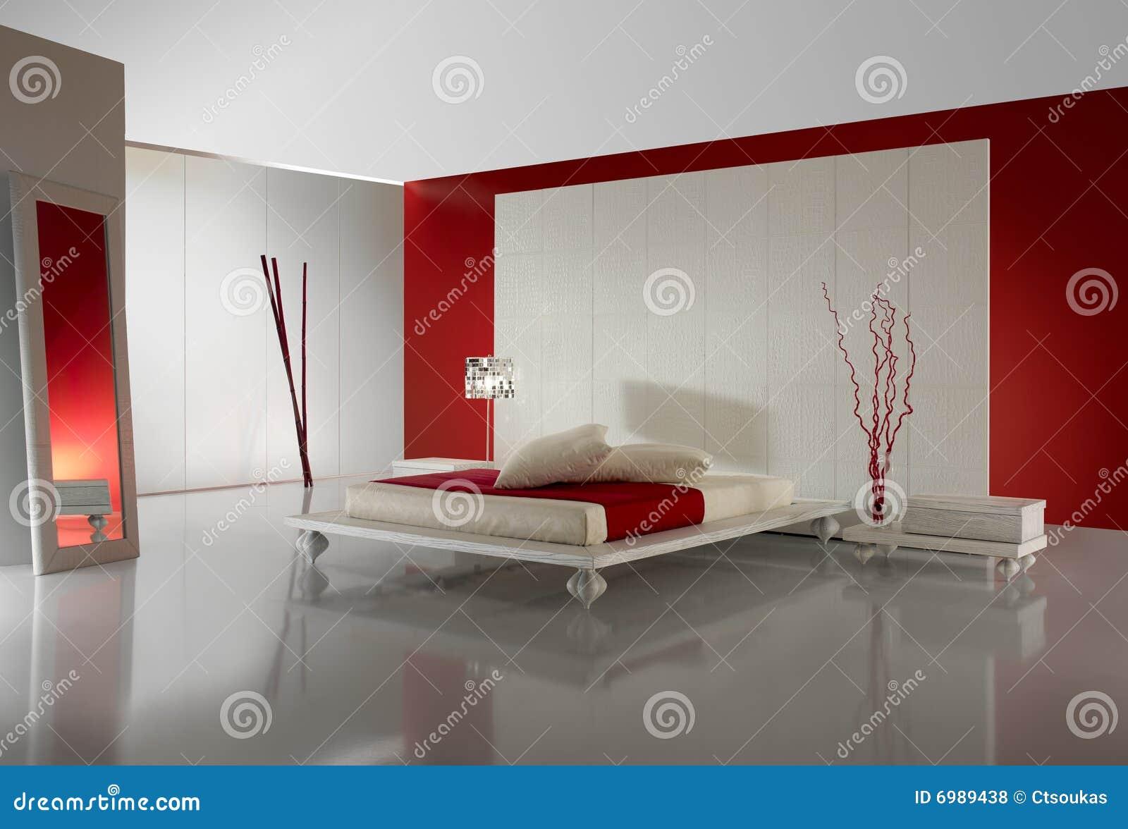 Chambre à Coucher Luxueuse De Minimalistic