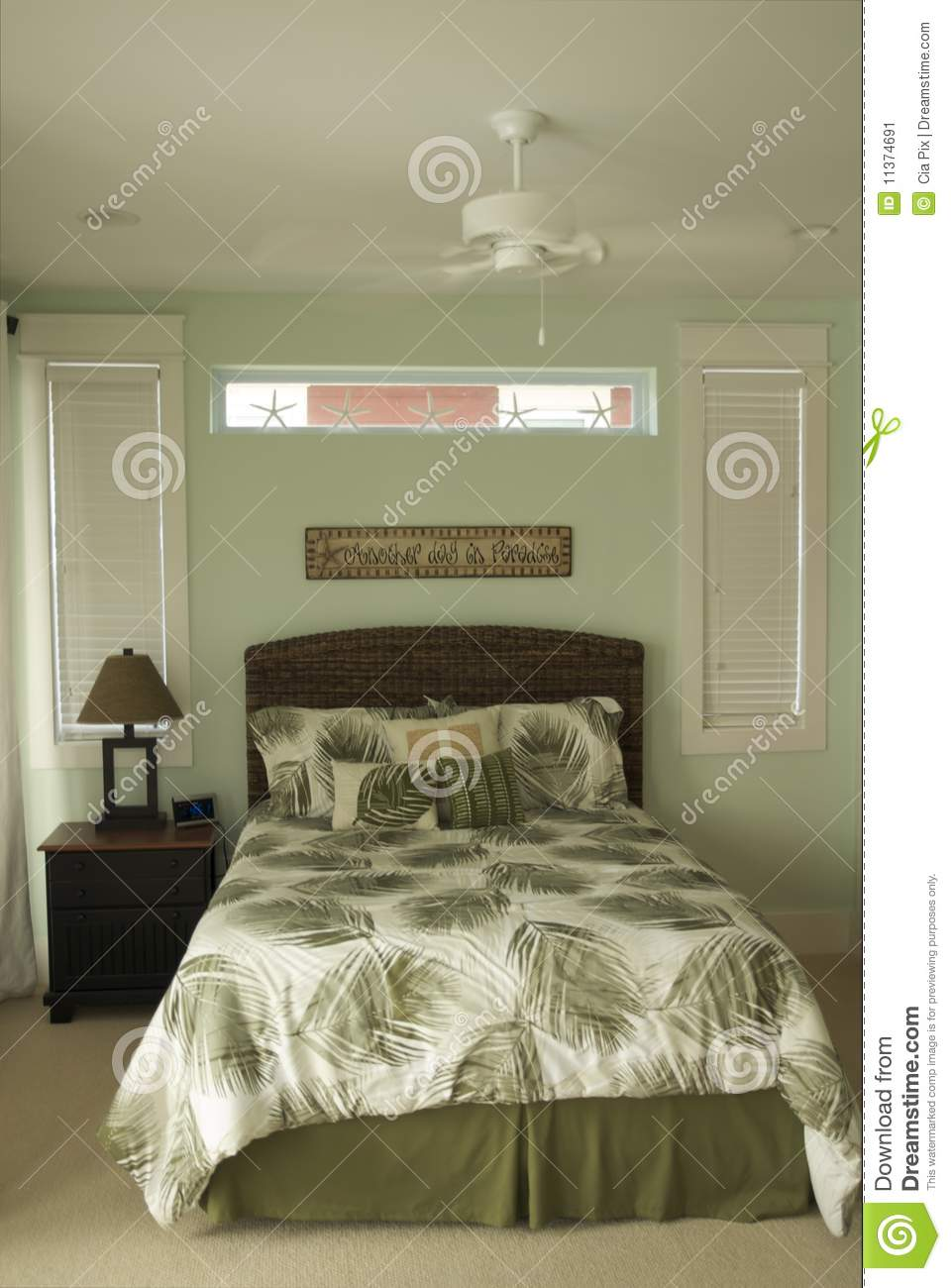 Chambre à Coucher Moderne Image stock - Image: 11374691