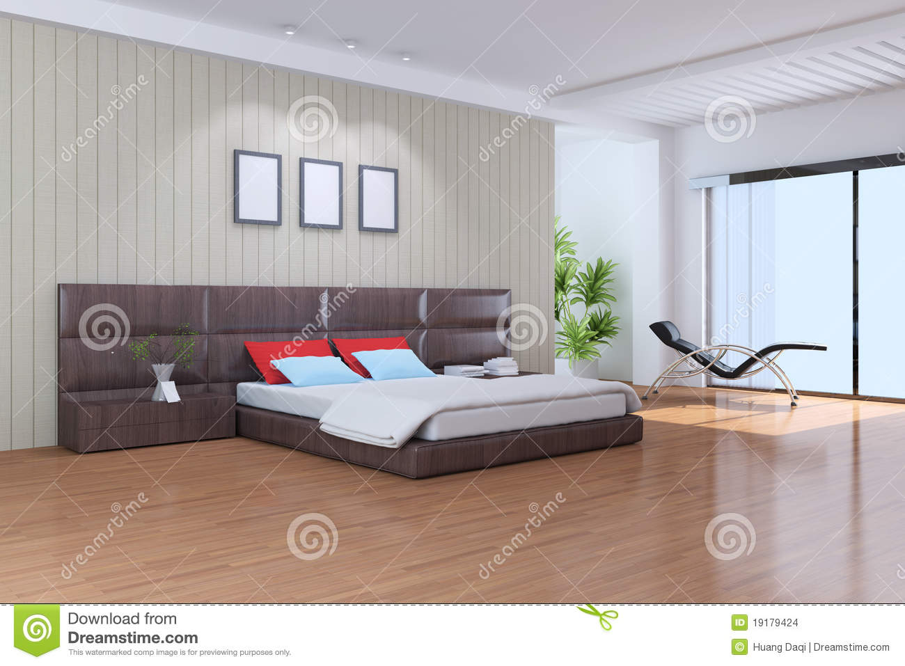 Chambre Coucher Moderne Images Stock Image 19179424