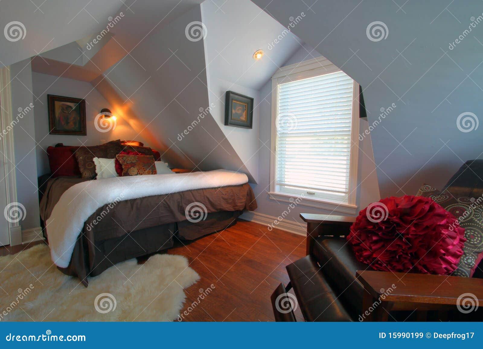 Chambre coucher moderne luxueuse images libres de droits for Chambre luxueuse