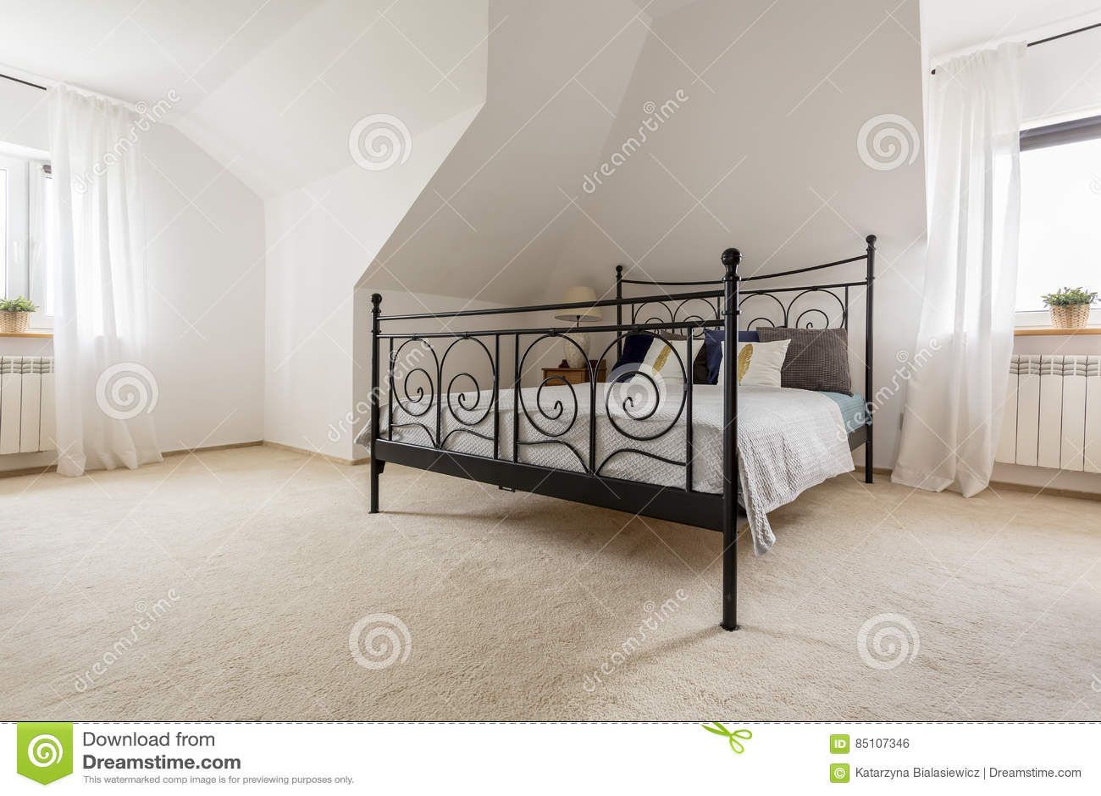 Chambre à coucher royale à votre maison