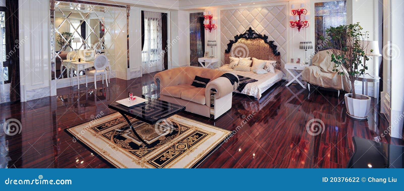 Chambre coucher royale europ enne photographie stock for Chambre a coucher royale