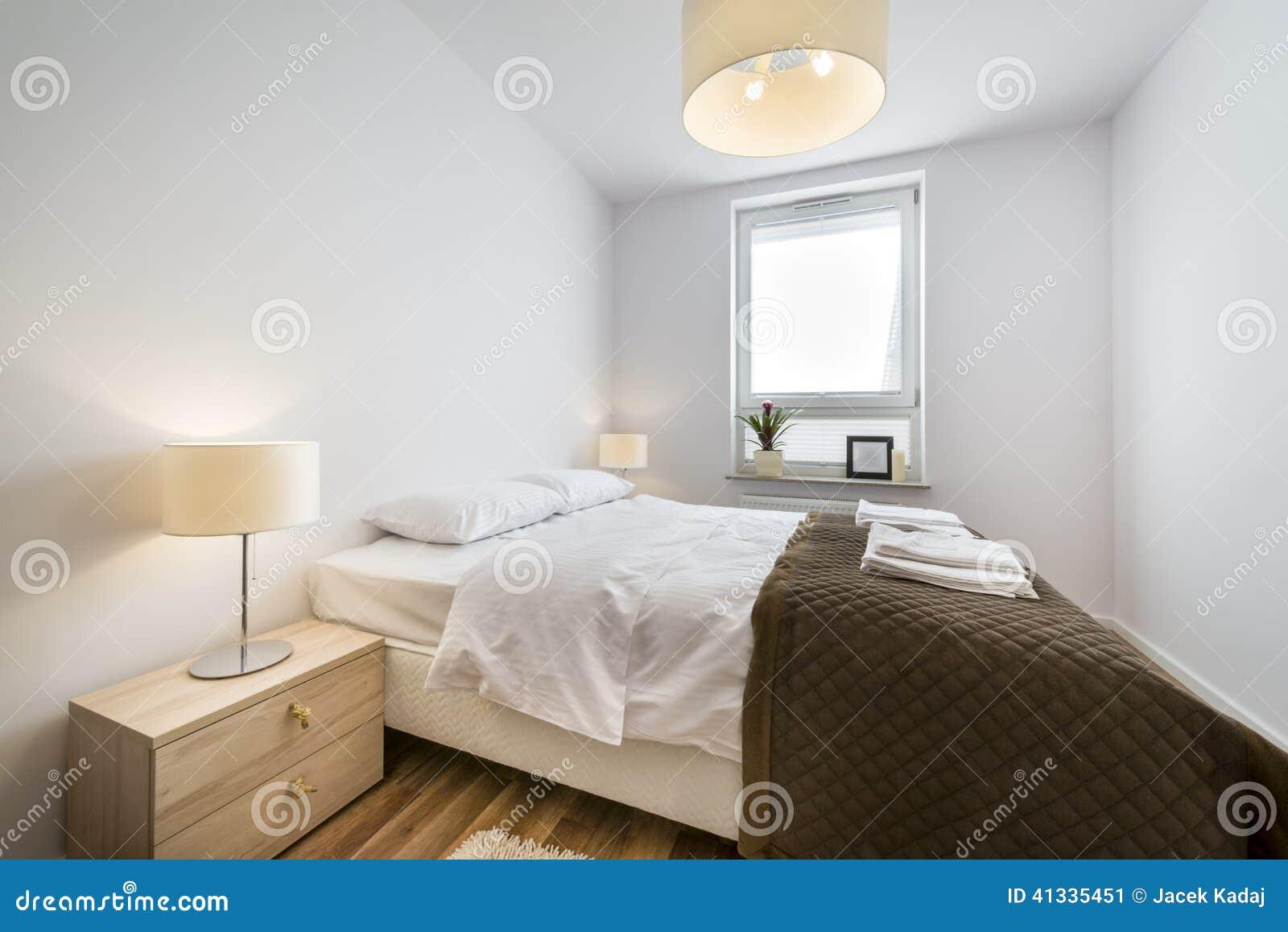 Chambre à Coucher Scandinave Moderne De Conception Intérieure ...