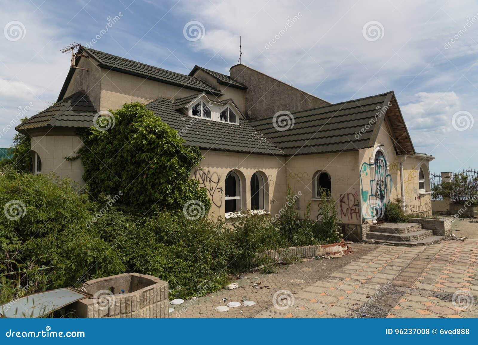 Chambre abandonnée Novorossiysk Russie 13 05 2017