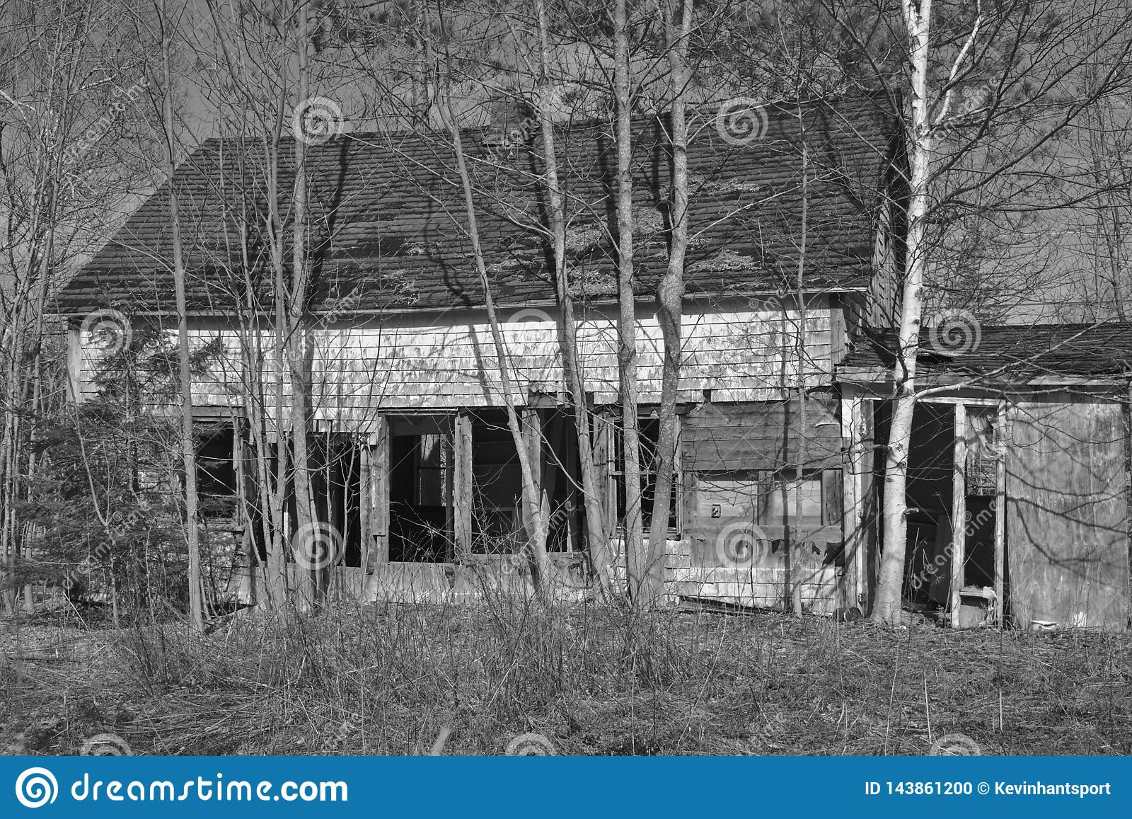 Chambre abandonnée