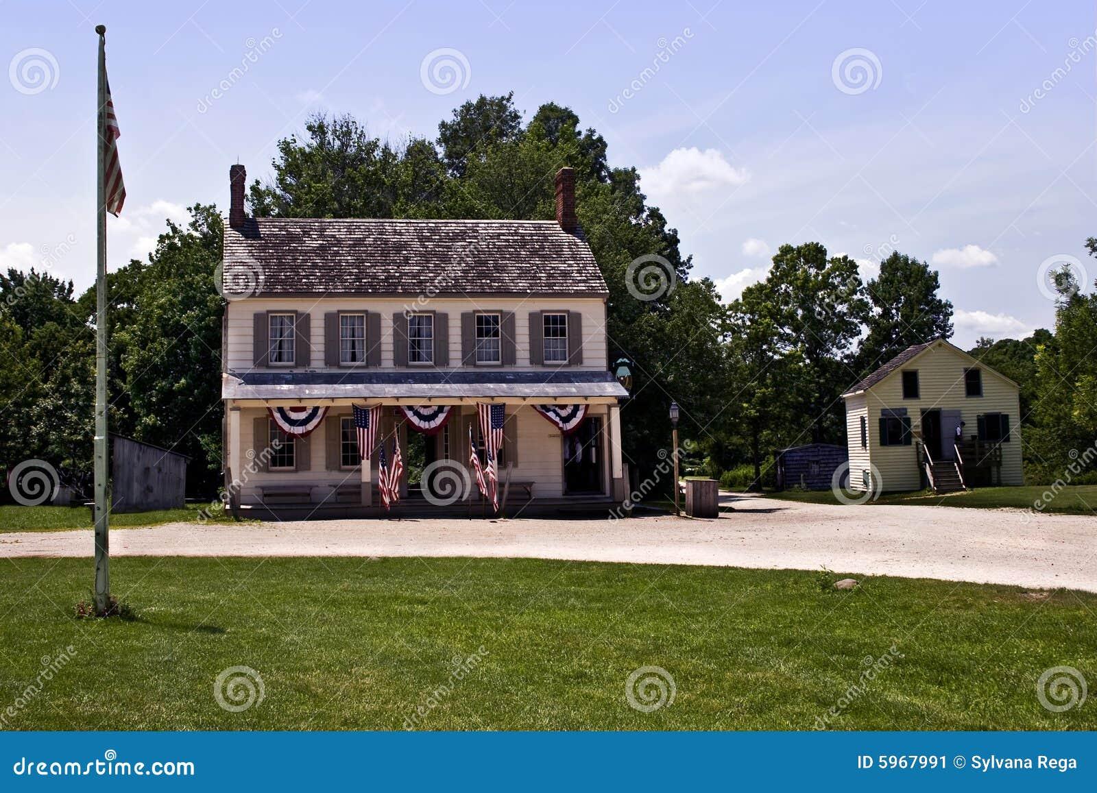 Chambre américaine tôt