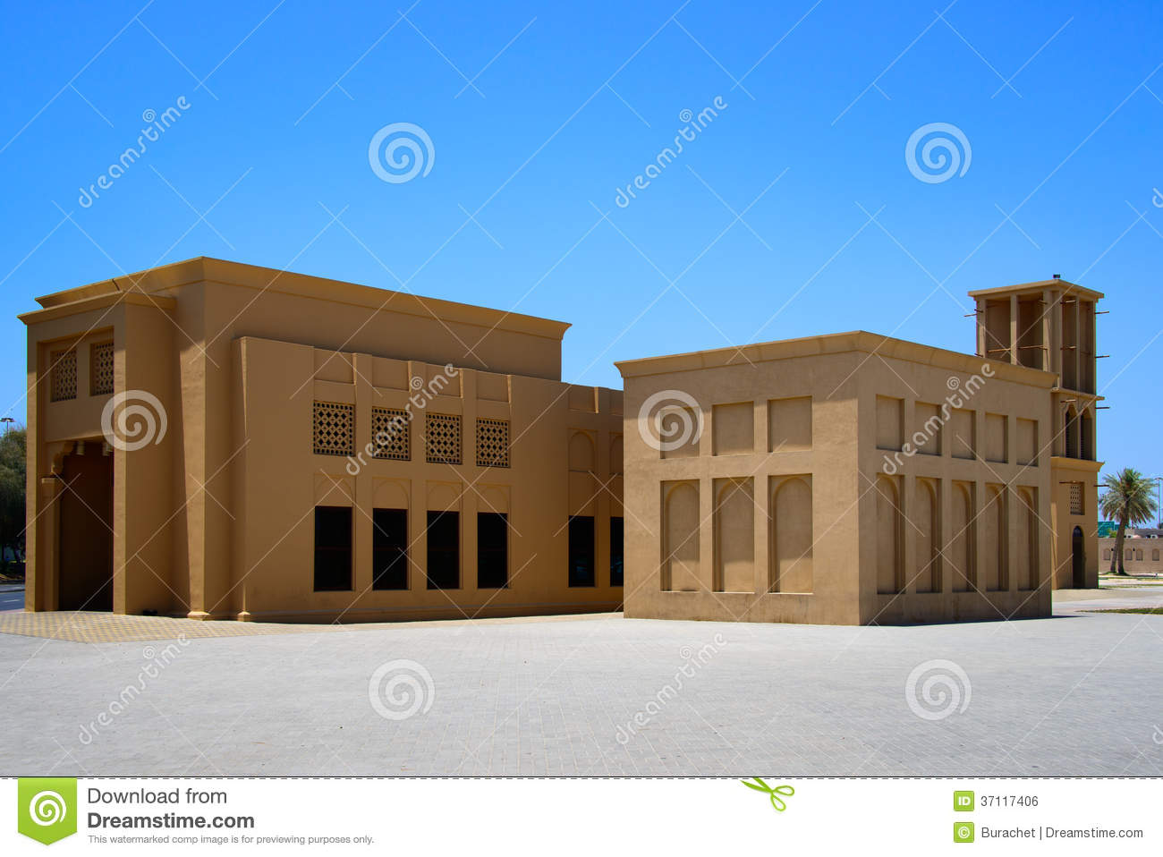 Chambre arabe image libre de droits image 37117406 for Architecture maison arabe