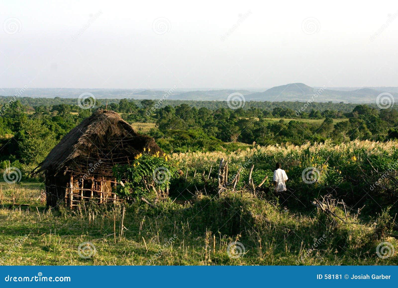 Chambre au Kenya