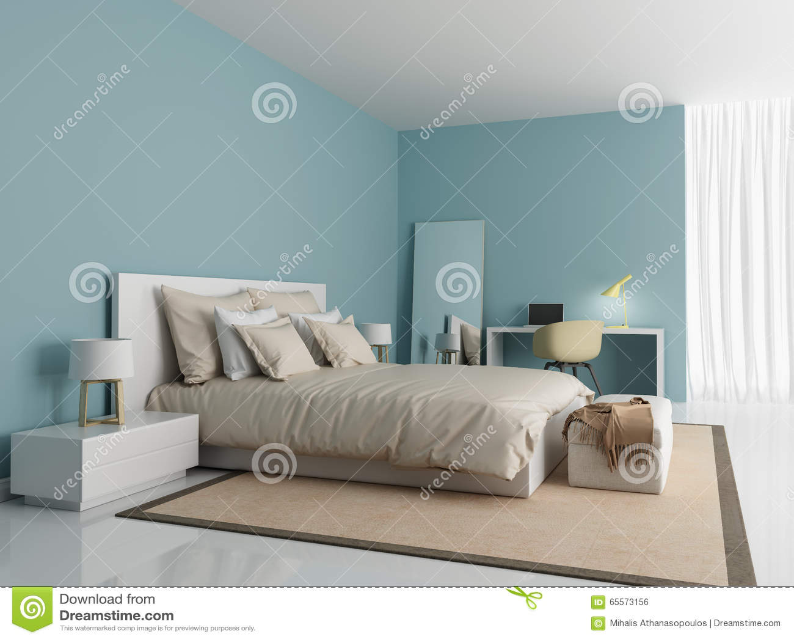 Indogate.com   Chambre Bleu Violet