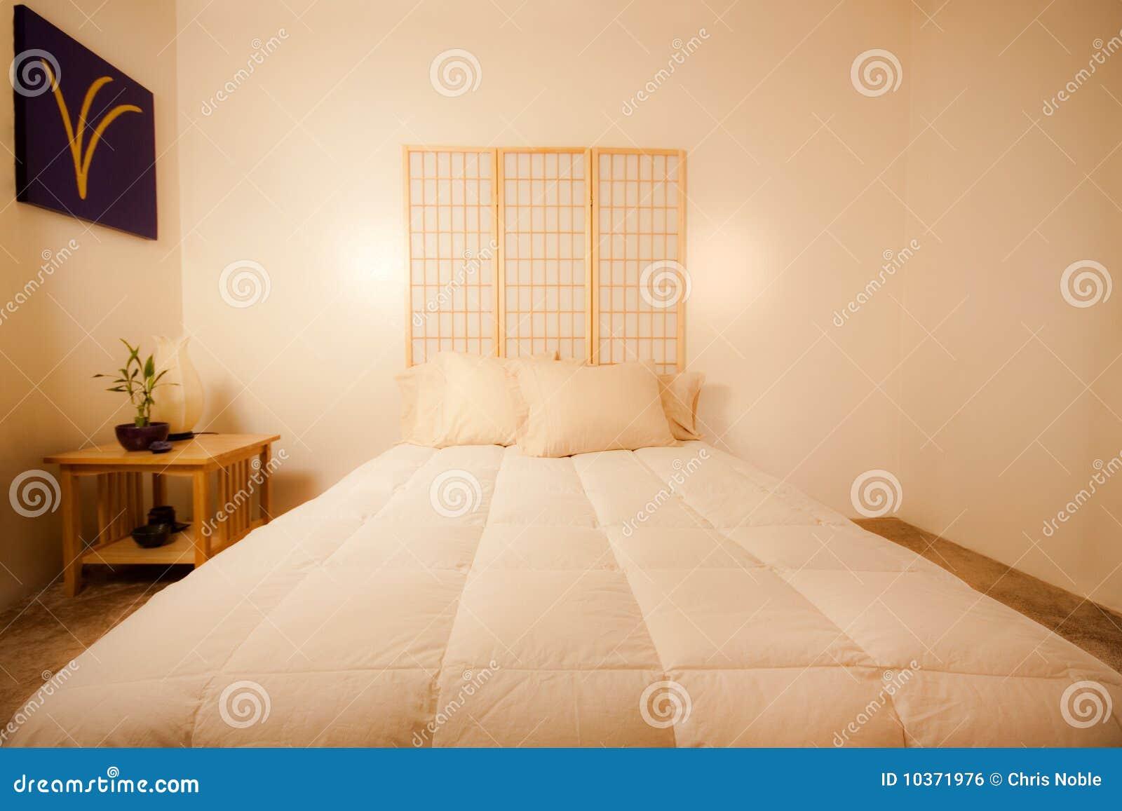 Chambre à coucher de feng shui image libre de droits   image: 10371976