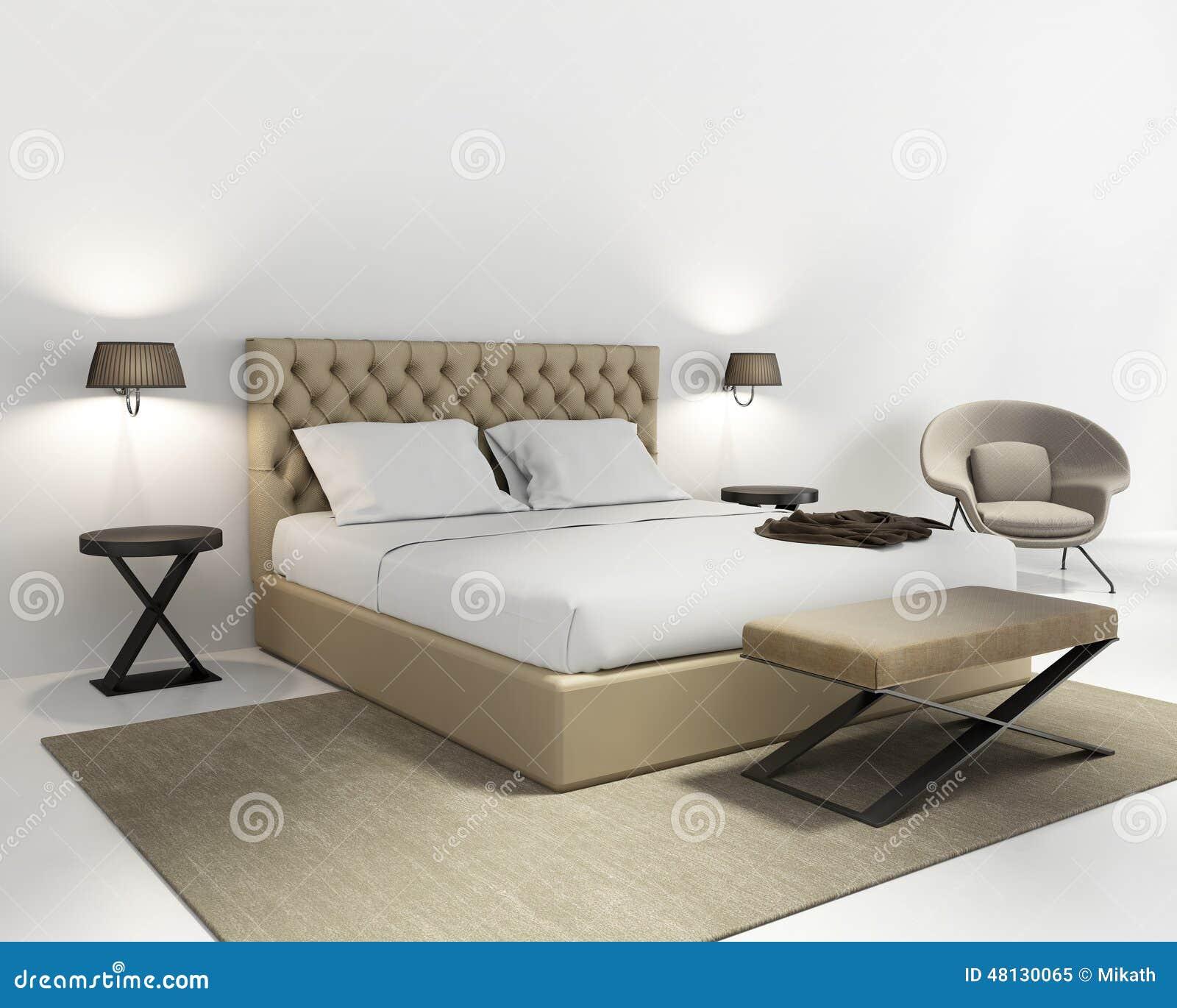 Chambre grise et bleu - Chambre a coucher rouge et beige ...