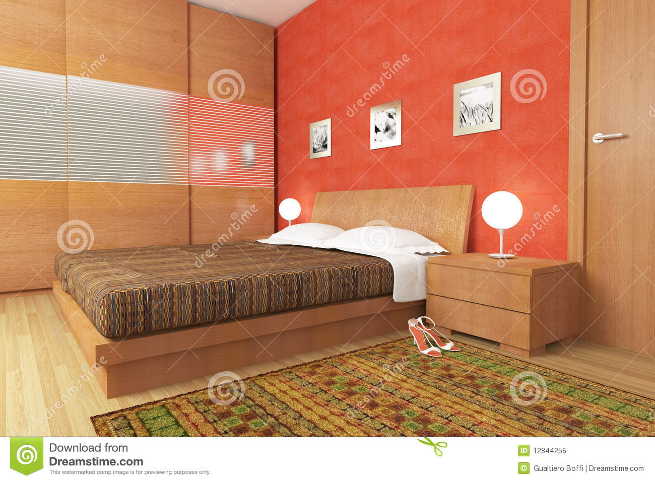 Chambre A Coucher Moderne En Bois. Awesome Affordable Chambre ...