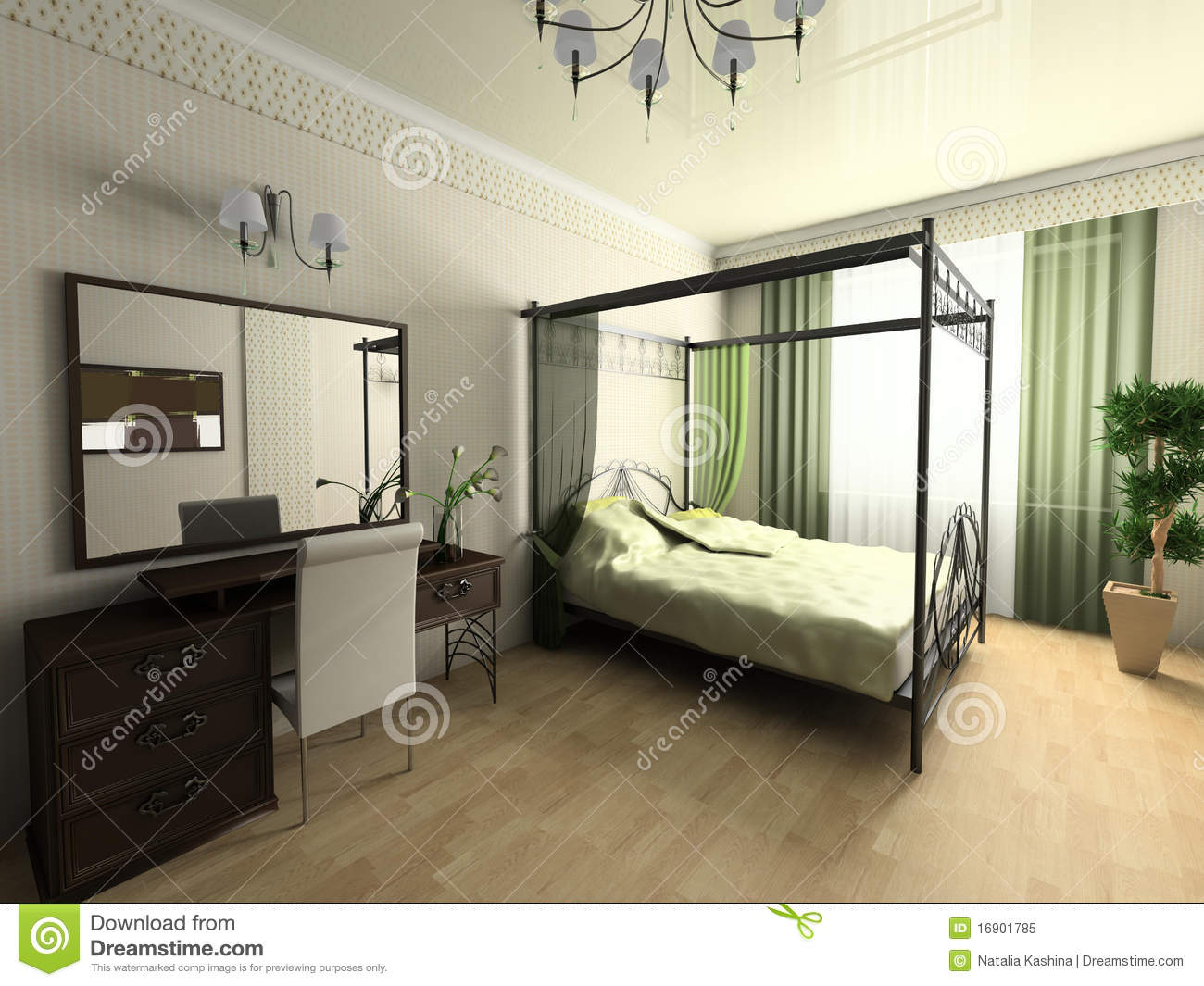 Moderne chambre a coucher – lombards