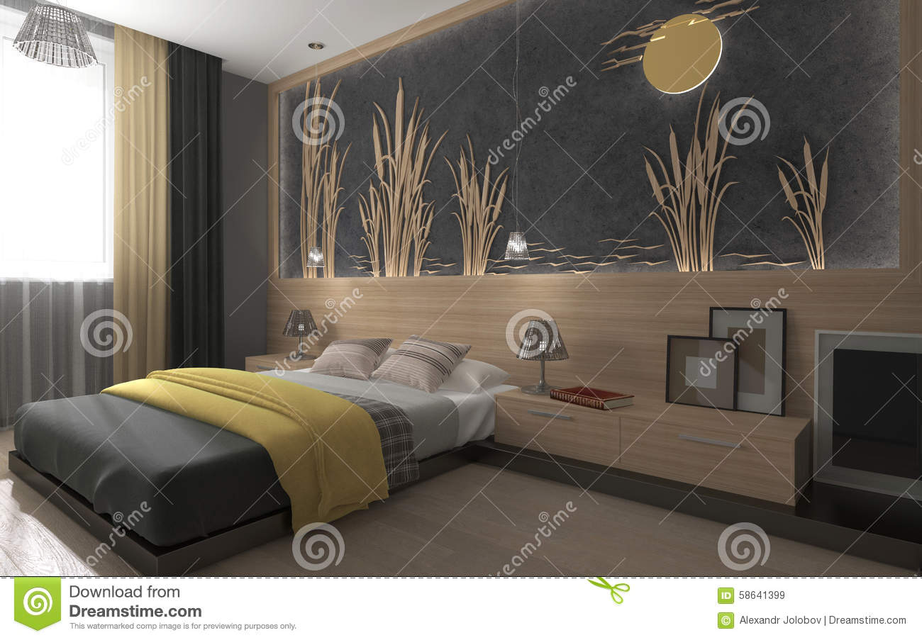 Beautiful chambre a coucher jaune et blanc gallery for Chambre coucher moderne