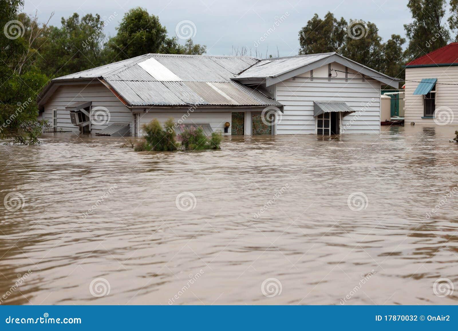 Chambre d 39 assurance contre l 39 inondation photographie stock for Chambre de l assurance de dommage