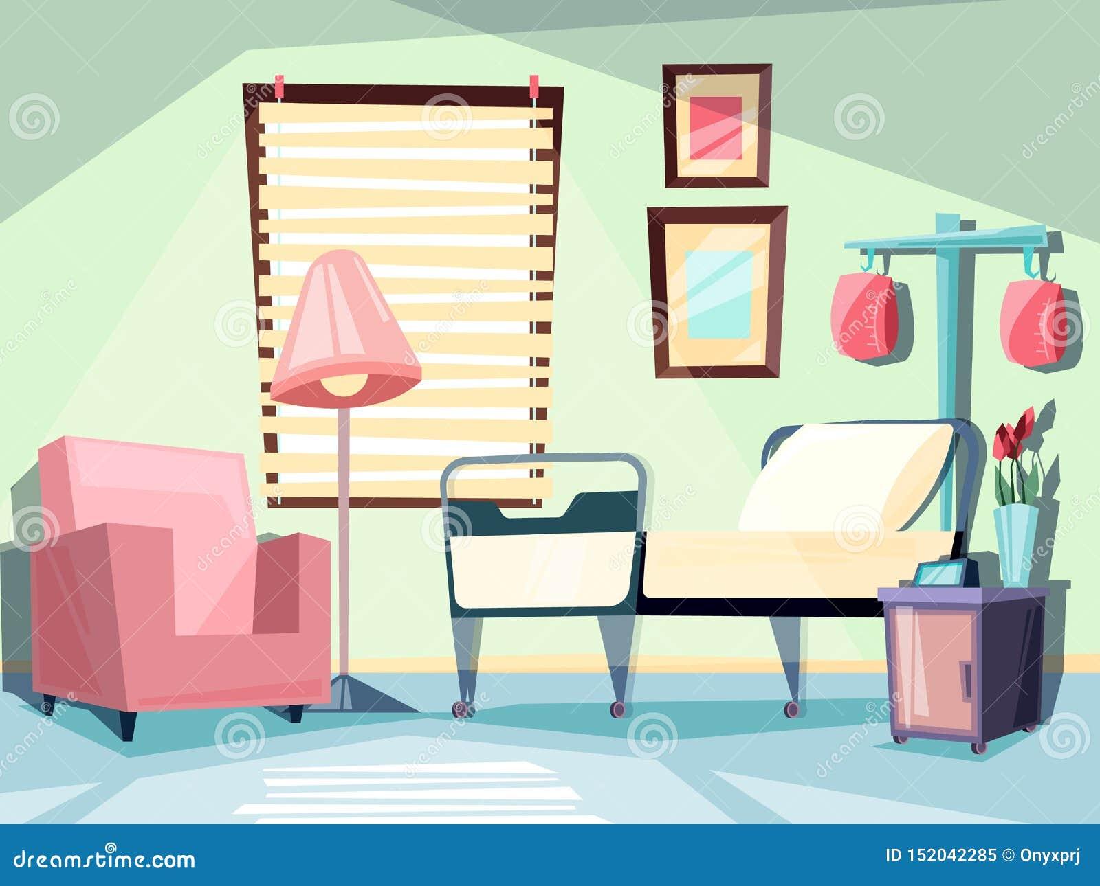 Chaises Salle D Attente Cabinet Medical chambre d'h?pital intérieur vide médical avec les