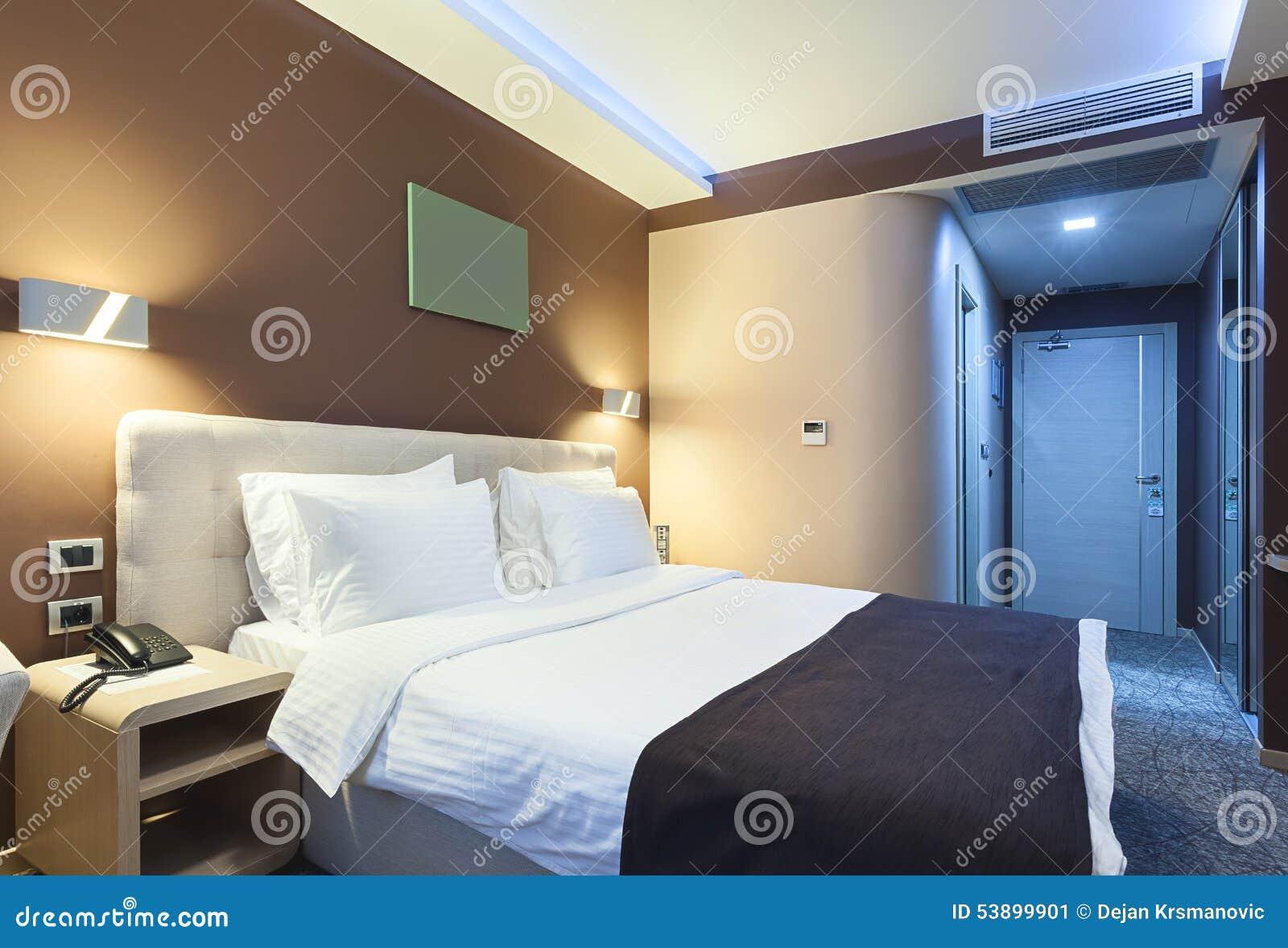 Chambre d hotel de luxe moderne pr l vement for Chambre hotel luxe pas cher