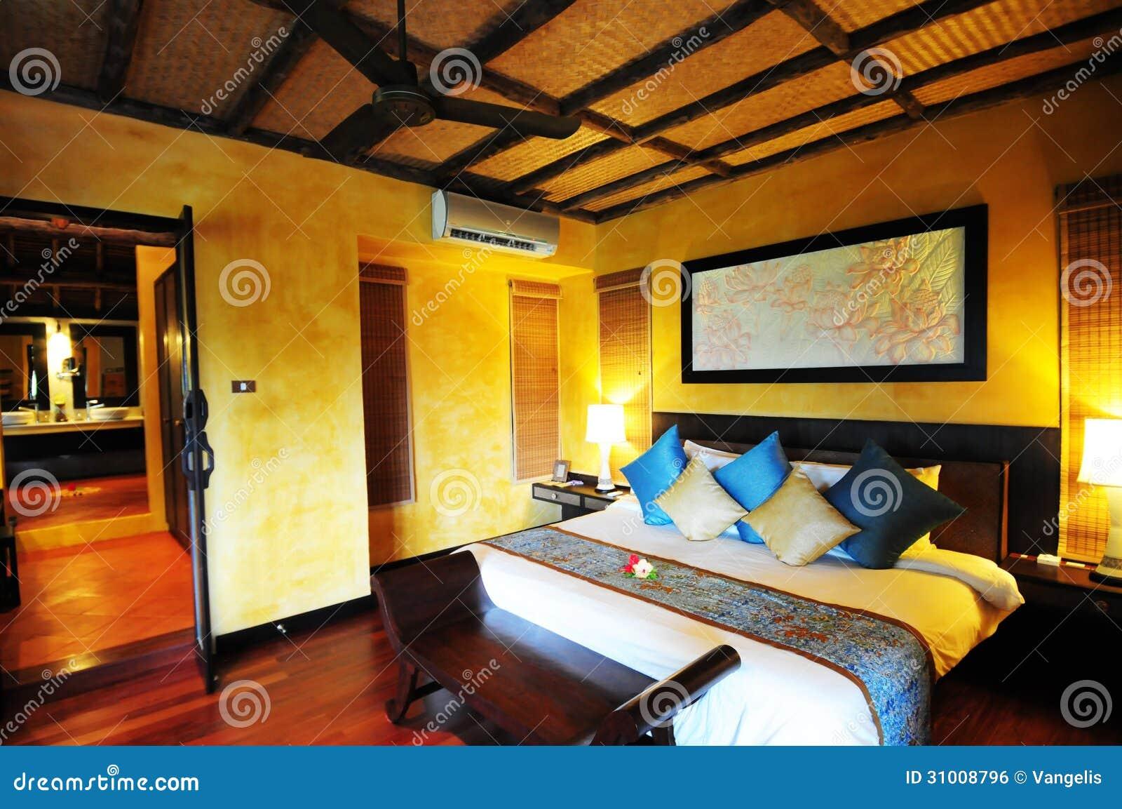 Chambre d 39 h tel en tha lande image libre de droits image for Chambre de hotel