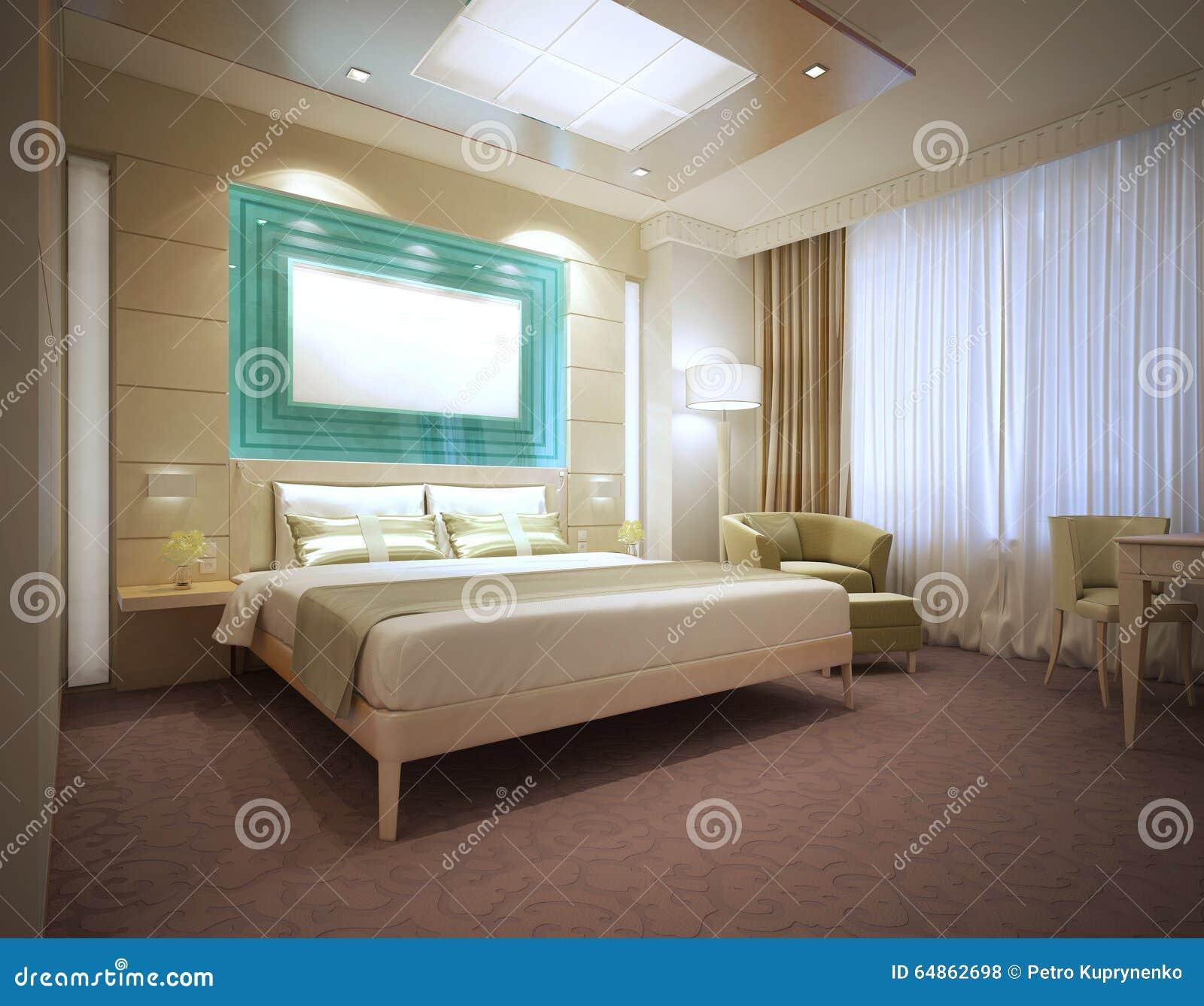 Chambre d 39 h tel moderne de luxe en couleurs les couleurs for Chambre de luxe moderne