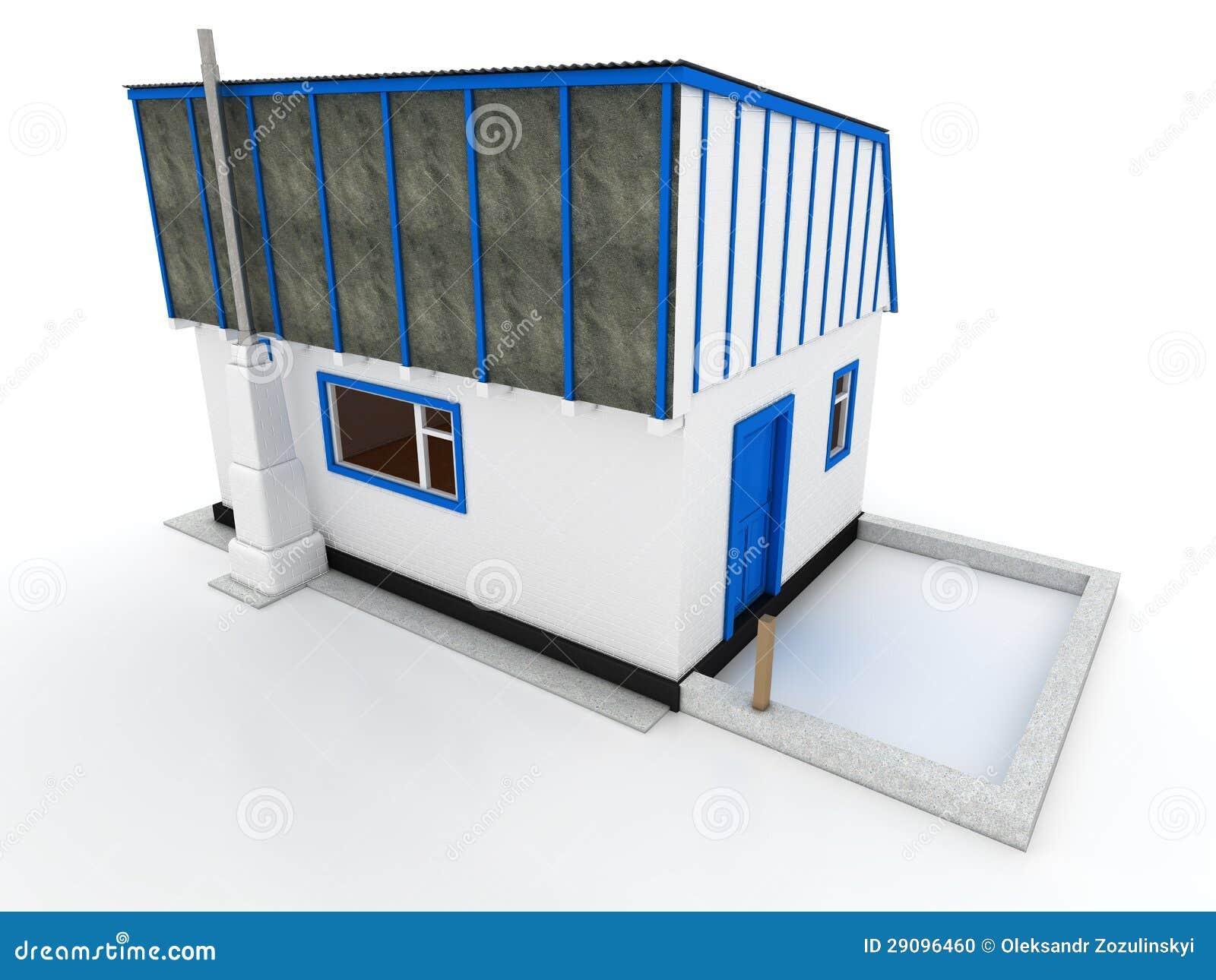 Chambre dans le village de la brique blanche â1