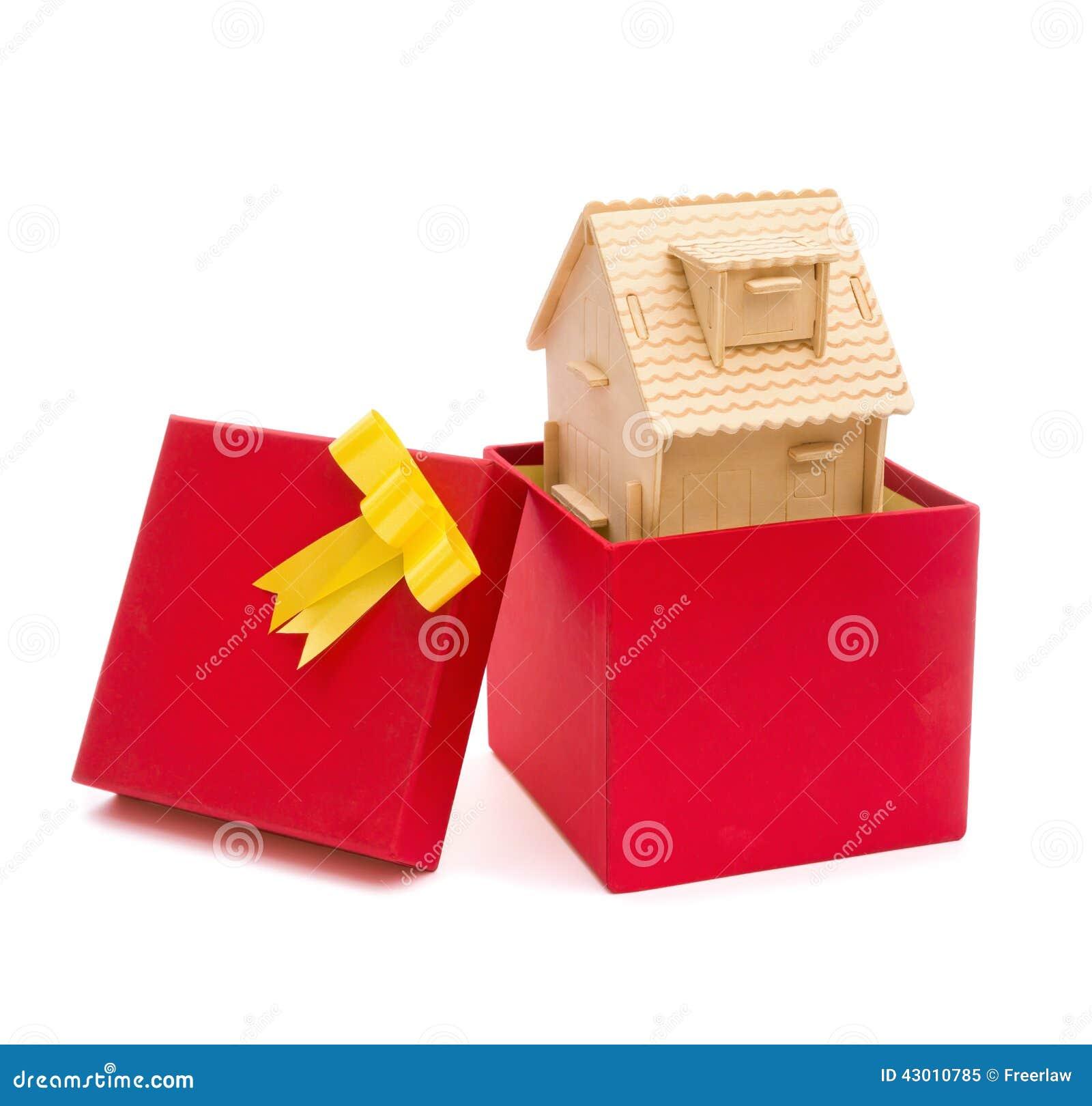 Chambre dans une boîte actuelle