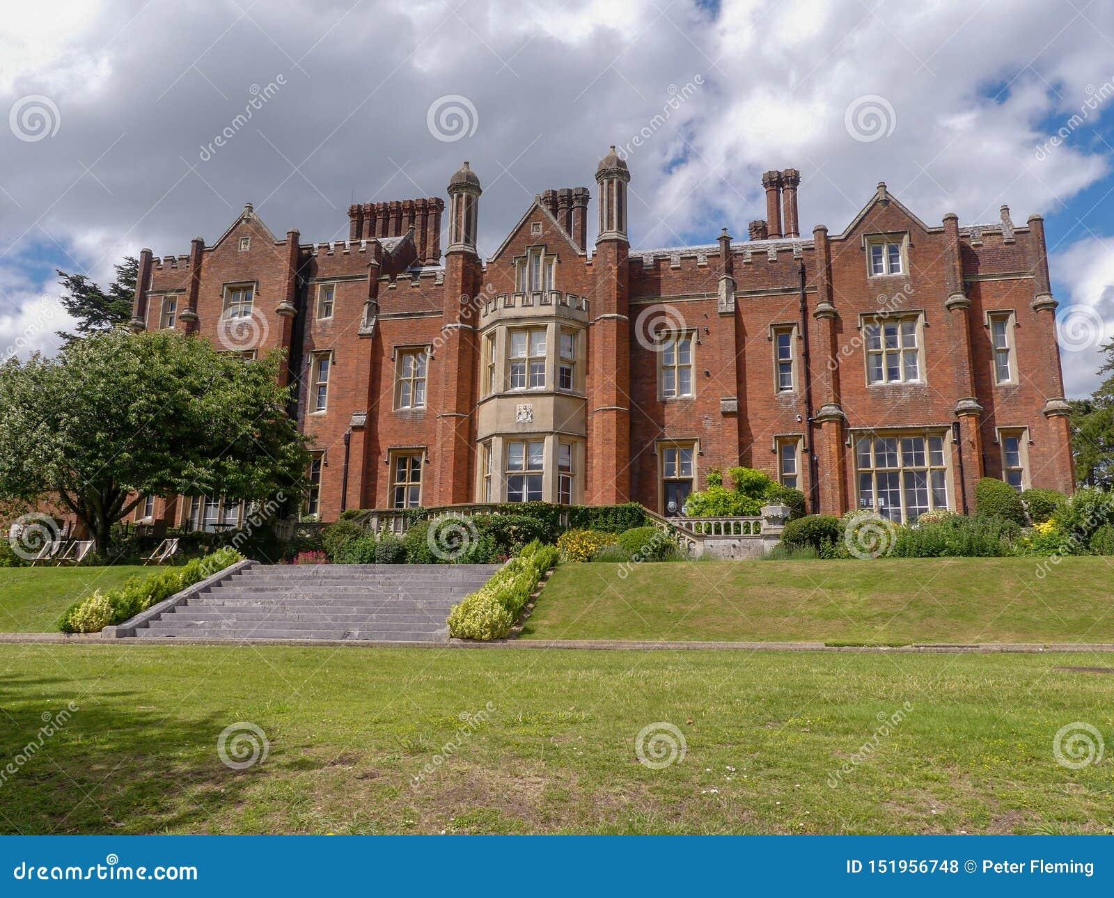 Chambre de Latimer un manoir de style Tudor, précédemment la maison de l université de la défense nationale