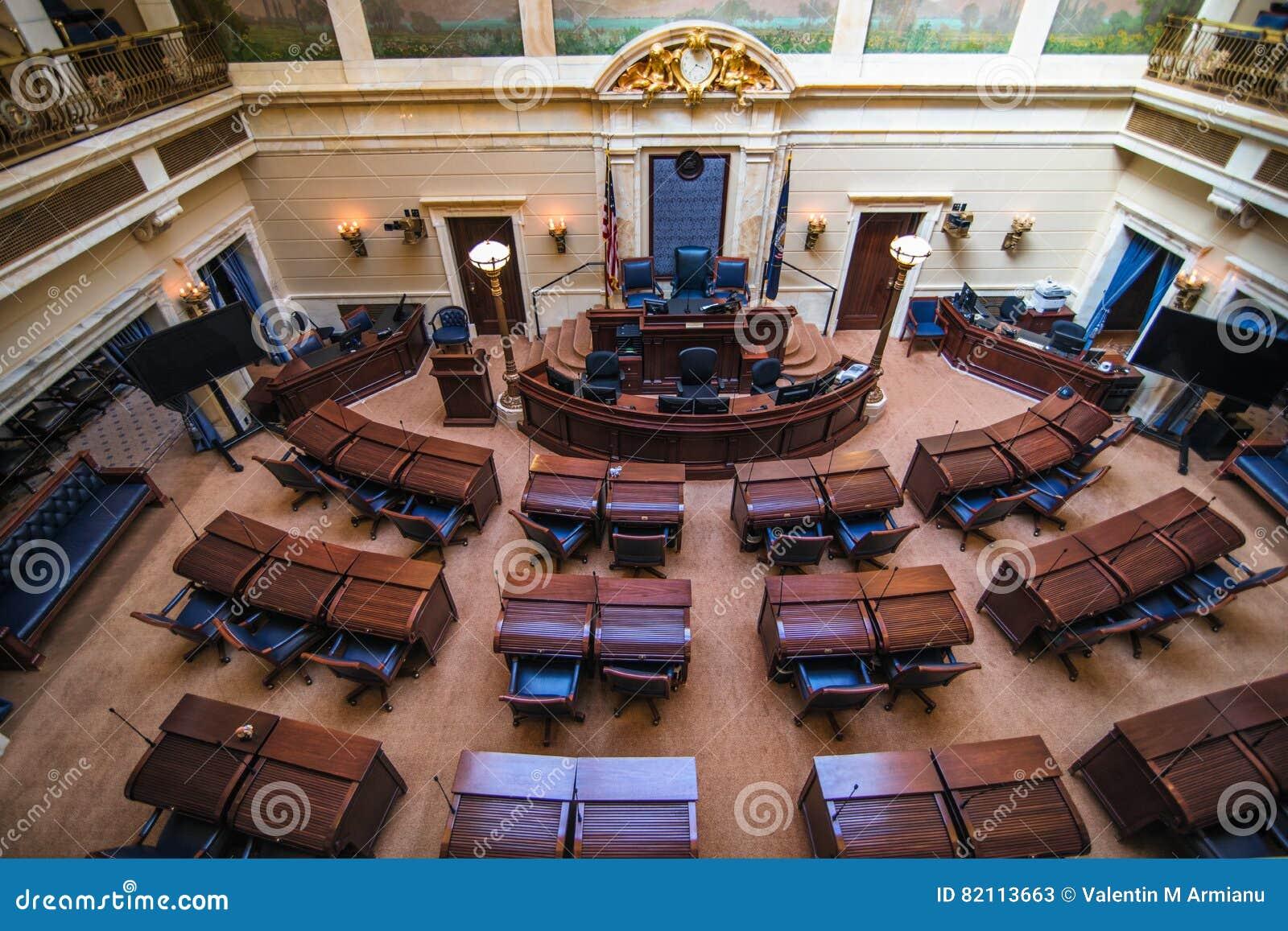 Chambre de sénat Utah