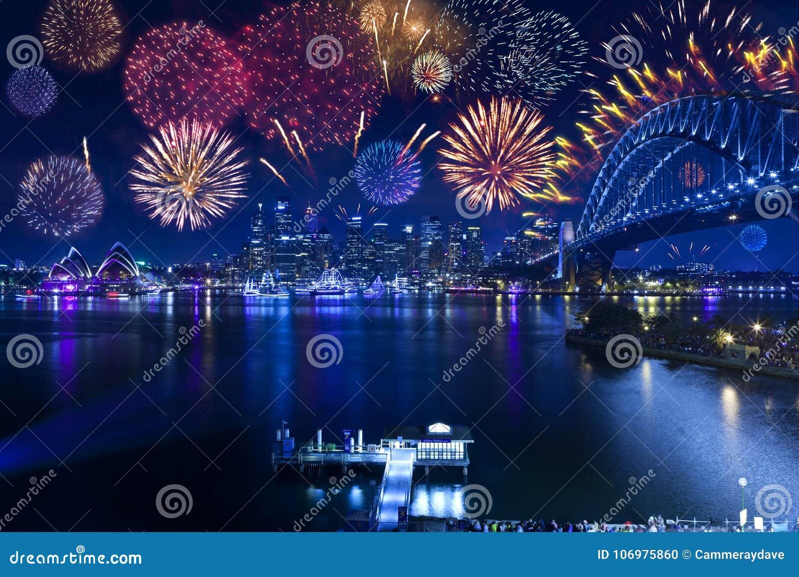 Chambre de Sydney Harbour Bridge Fireworks Opera