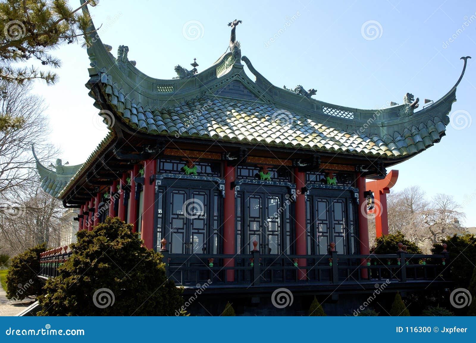 Chambre de thé chinoise