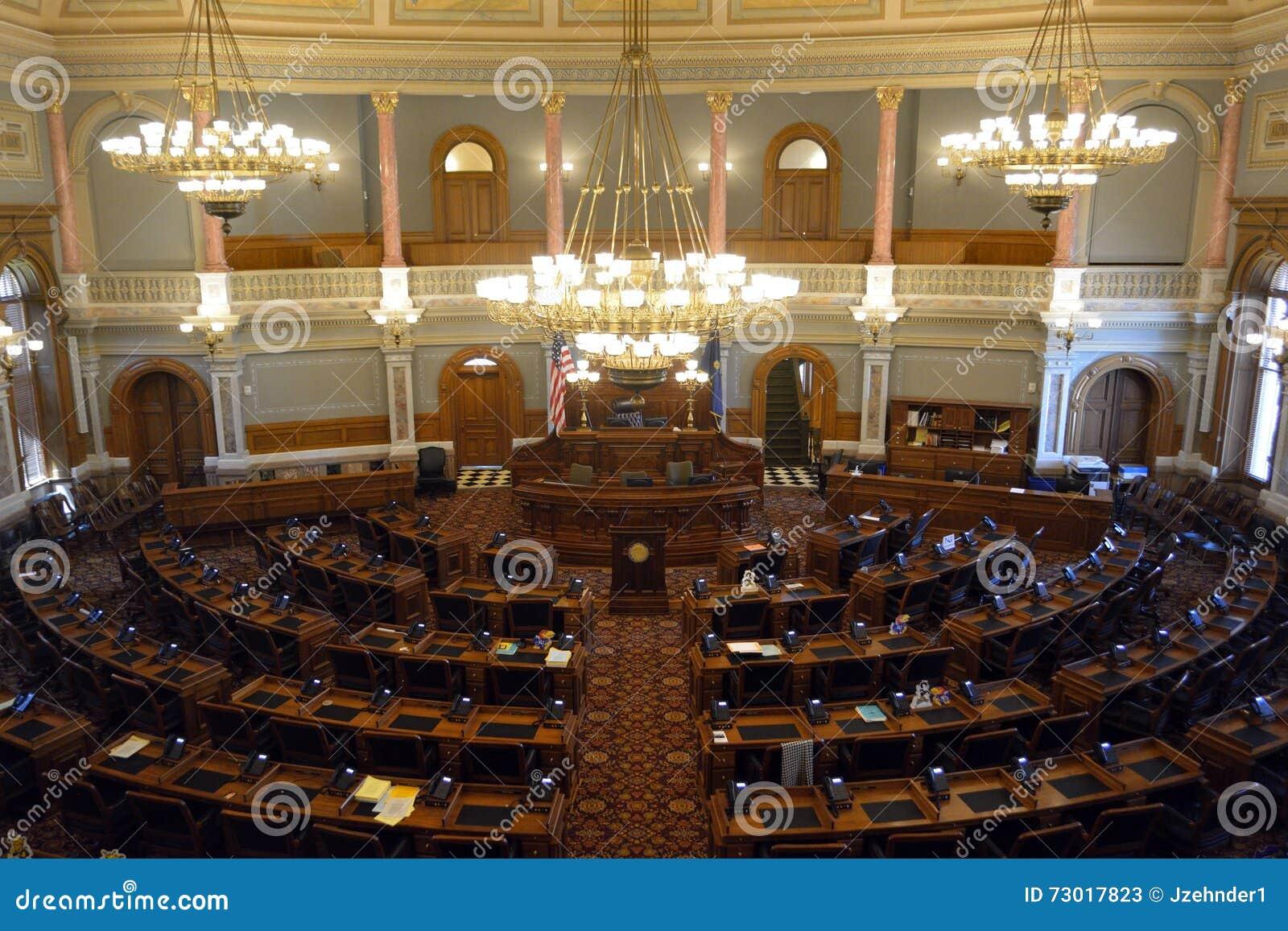 Chambre des représentants de capitol d état du Kansas la chambre