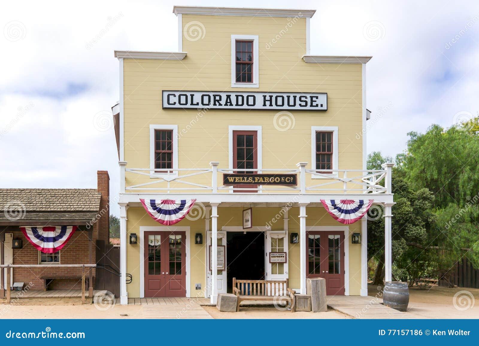 Chambre du Colorado à la vieille ville San Diego State Historic Park