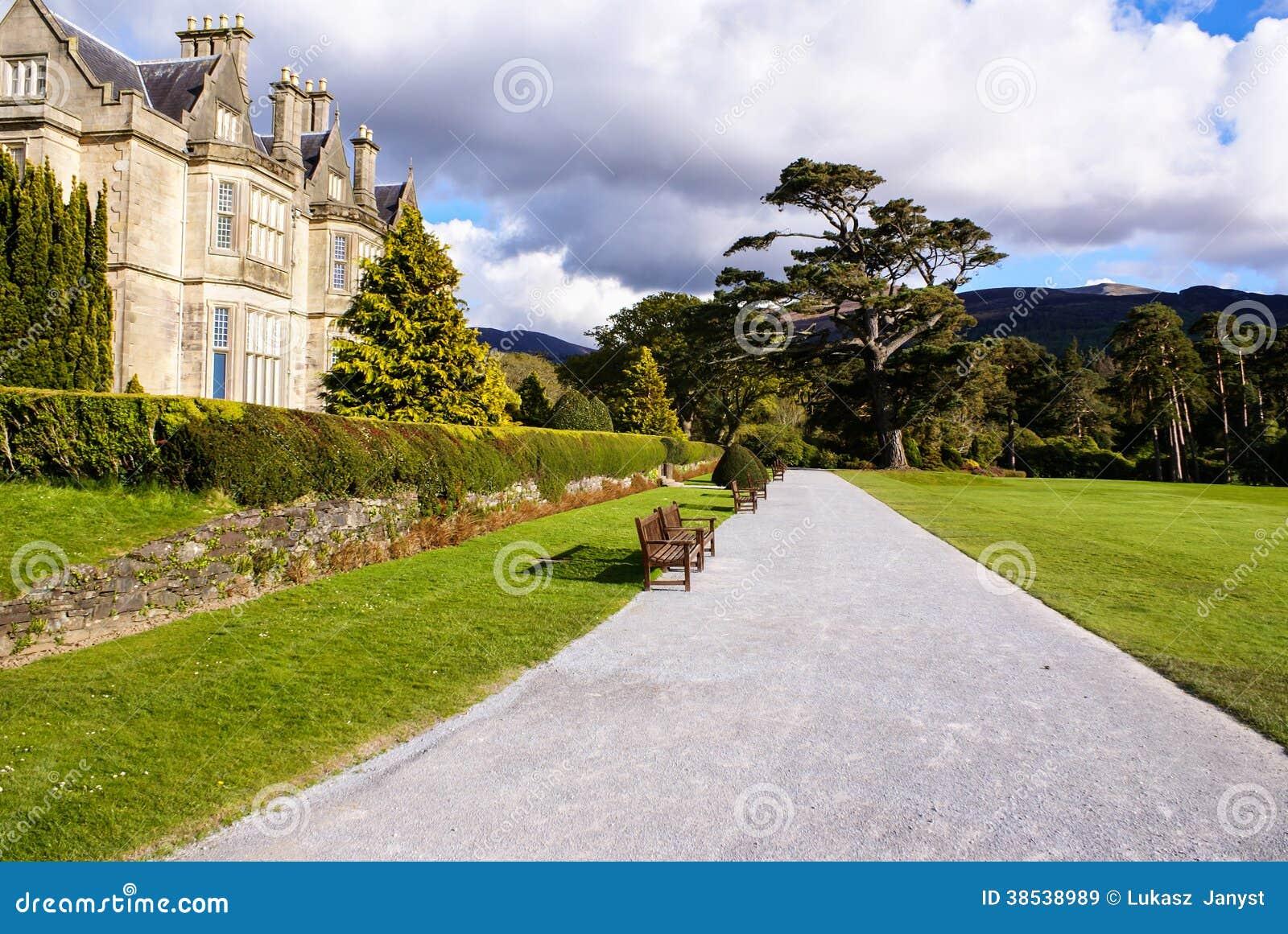 Chambre et jardins de muckross en parc national killarney - Conseil national des parcs et jardins ...