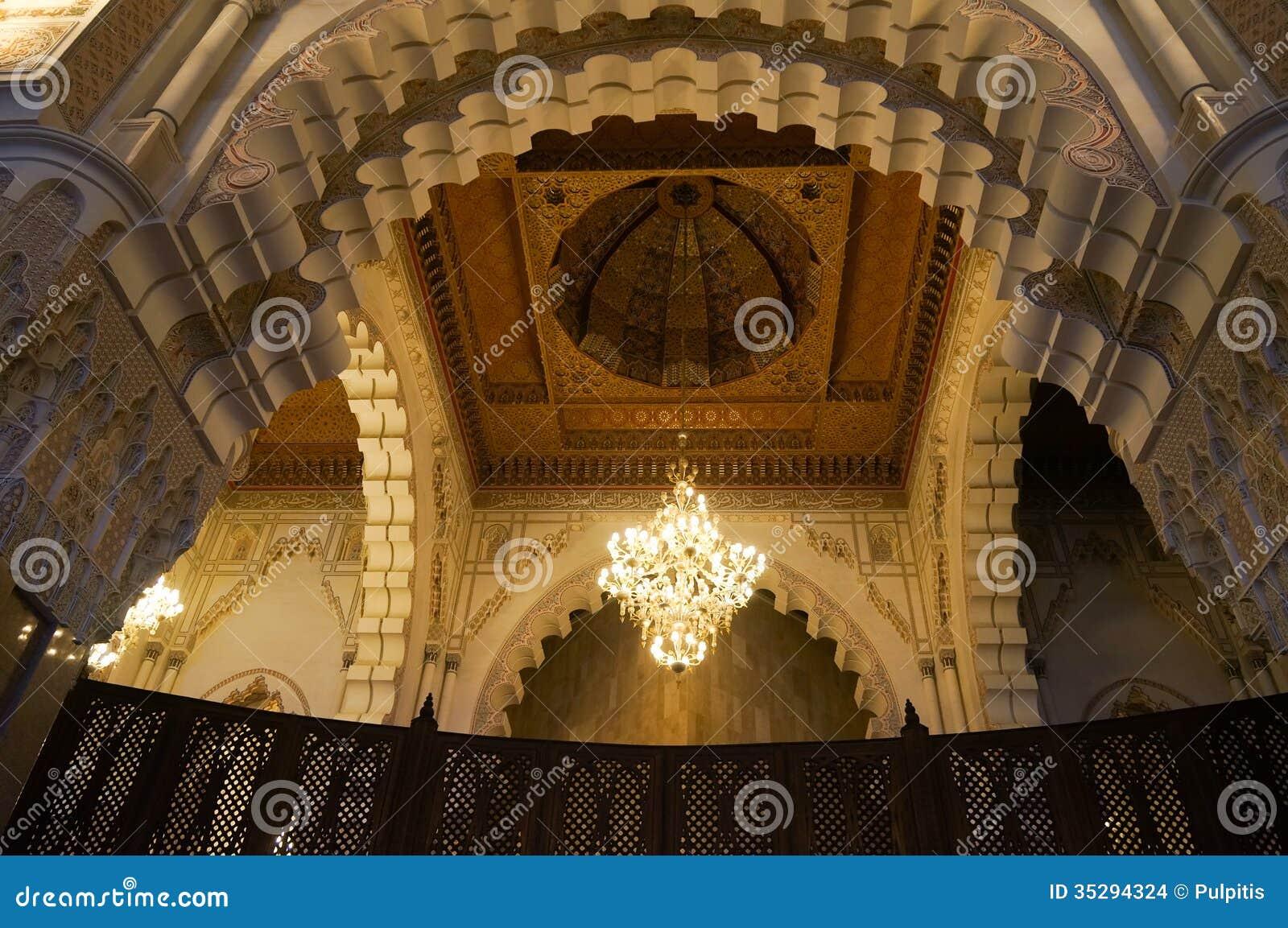 Chambre forte int rieure de mosqu e de hassan ii for Mosquee hassan 2 interieur