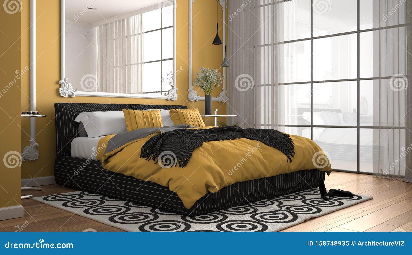 Dans une chambre jaune