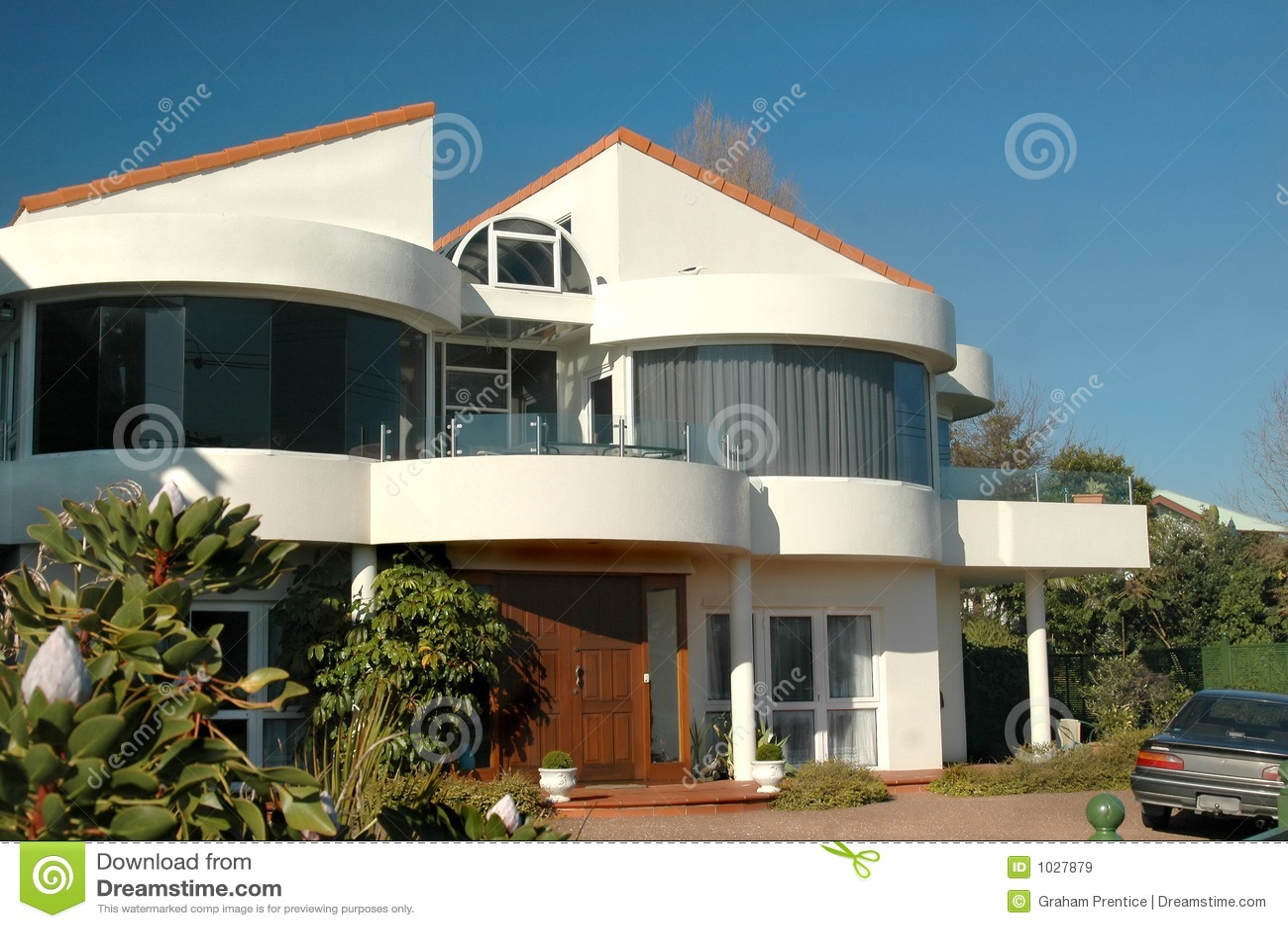 Chambre moderne image stock image du hypoth que origine for Maison duplex moderne