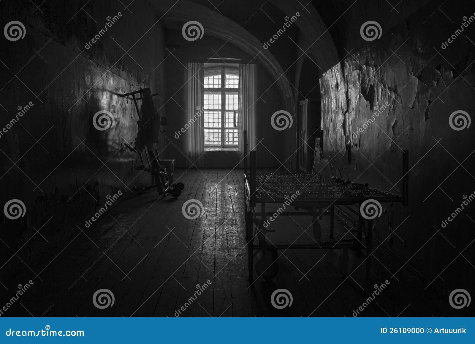 chambre sombre image éditorial. image du virulent, négligé - 26109000