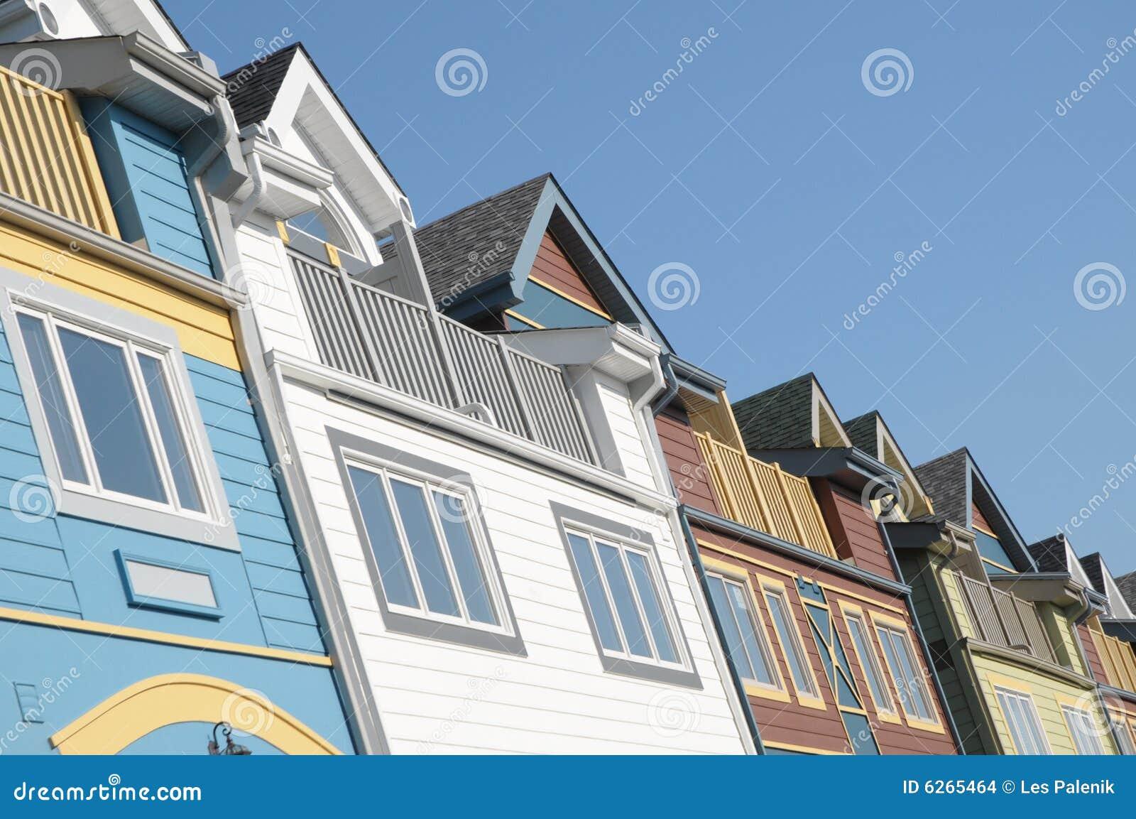 Chambres colorées