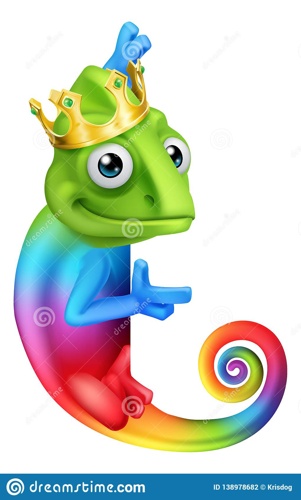 Chameleon King Crown Cartoon Lizard Character Stock Vector Illustration Of Drawing Color 138978682 You can edit any of drawings via our online image editor before downloading. https www dreamstime com chameleon king crown cartoon lizard character multicolored rainbow wearing illustration image138978682