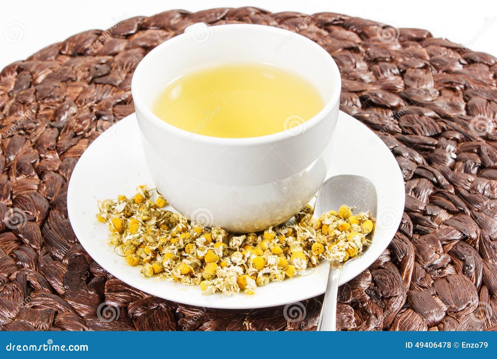 Download Chamonile-Tee stockfoto. Bild von ruhe, nave, getrocknet - 49406478