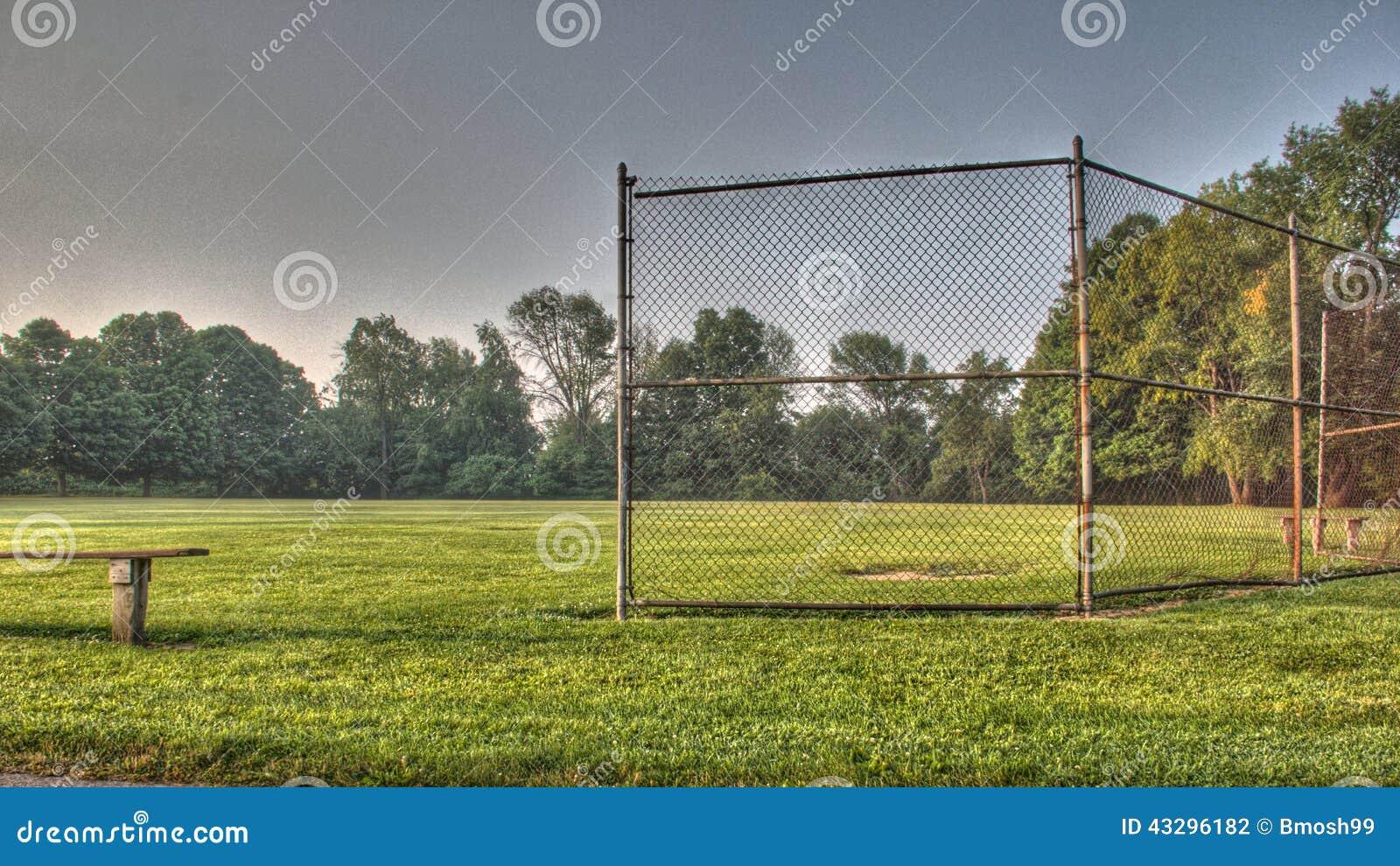Champ de base-ball ou de base-ball de la jeunesse