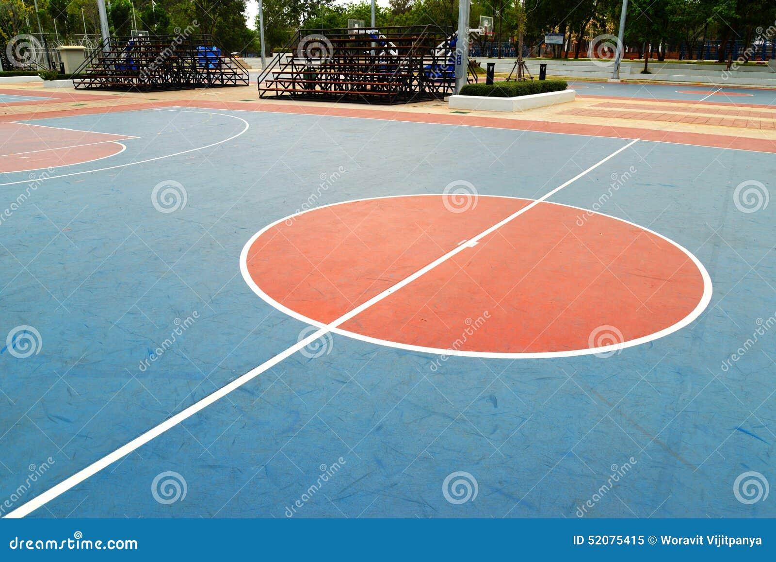 Champ de basket-ball