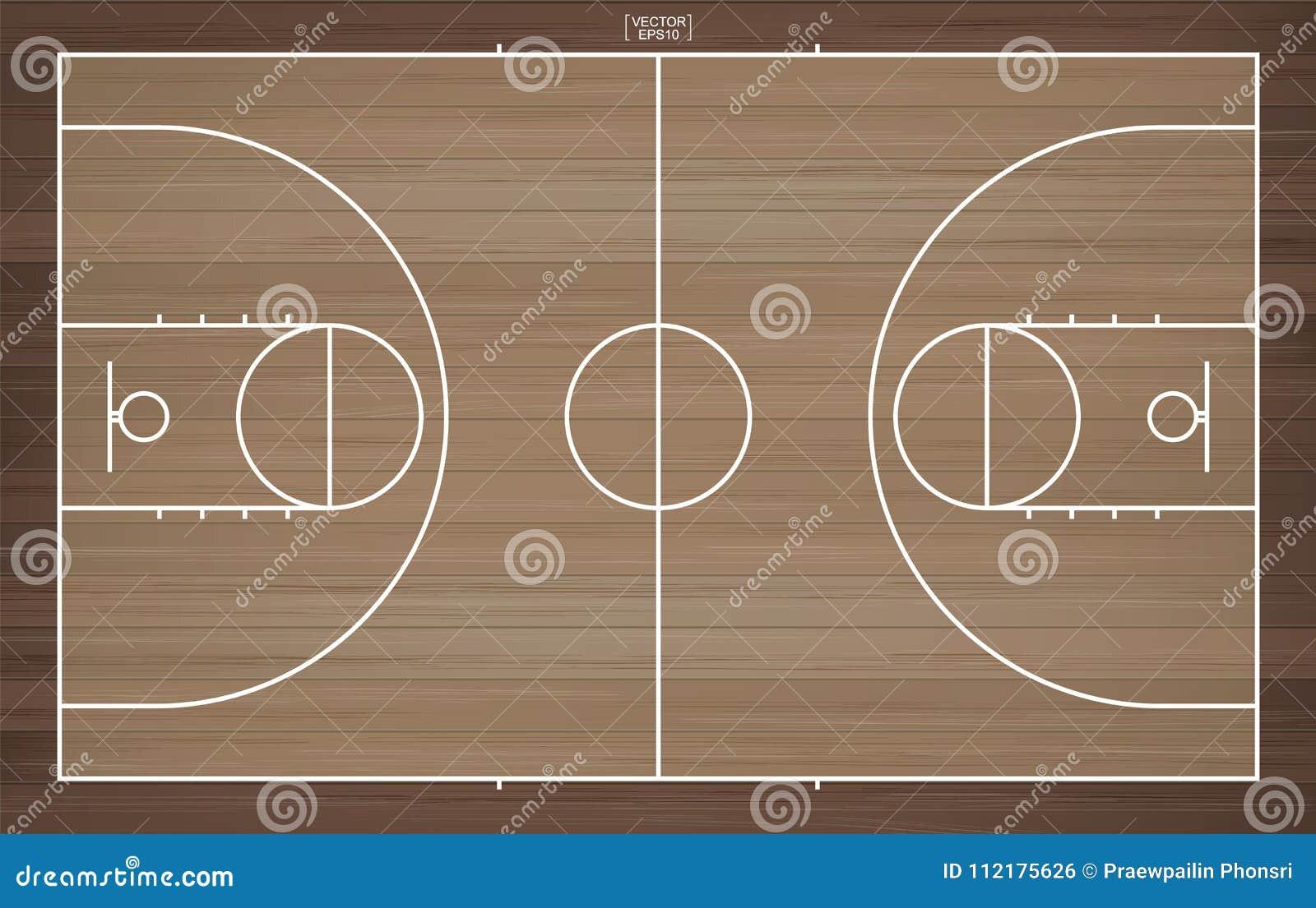 Ligne Champ De Basket Pour Fond La Le Ball Terrain Avec derBQxCoWE