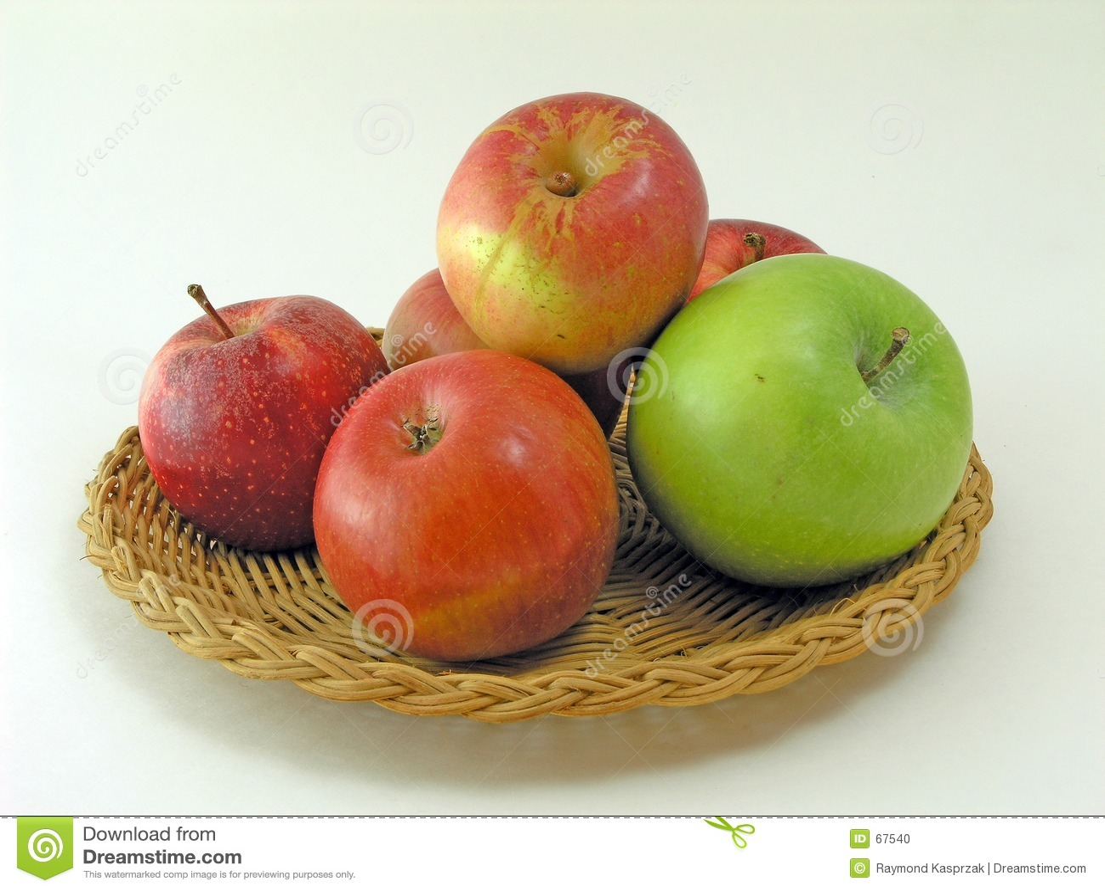 Champ de cablage à couches multiples des pommes