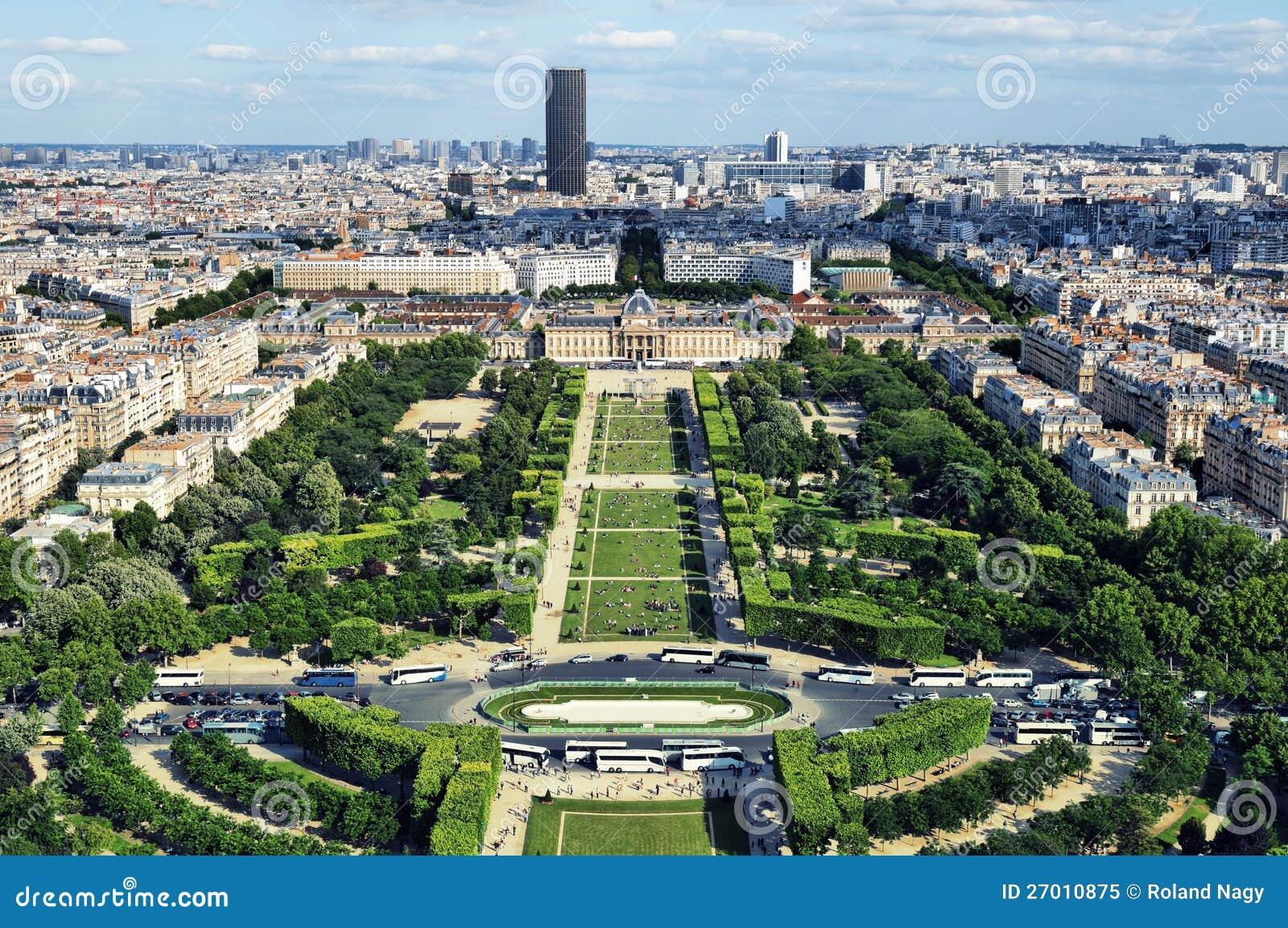 Champ de Mars, Paris - France