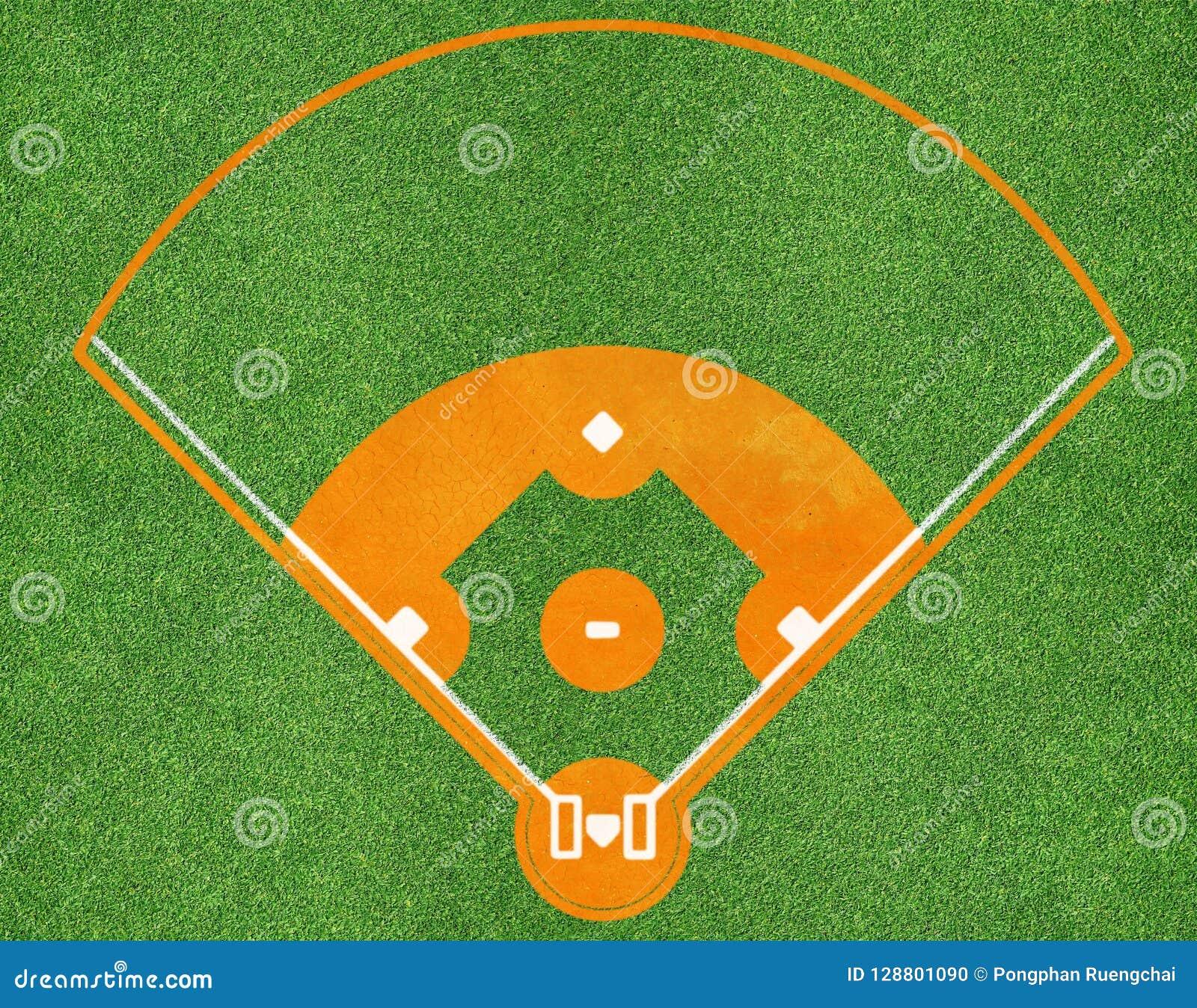 Champ de sports de base-ball
