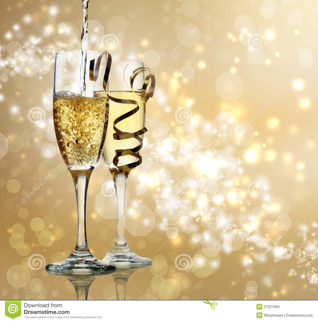 how to open champagne for celebration