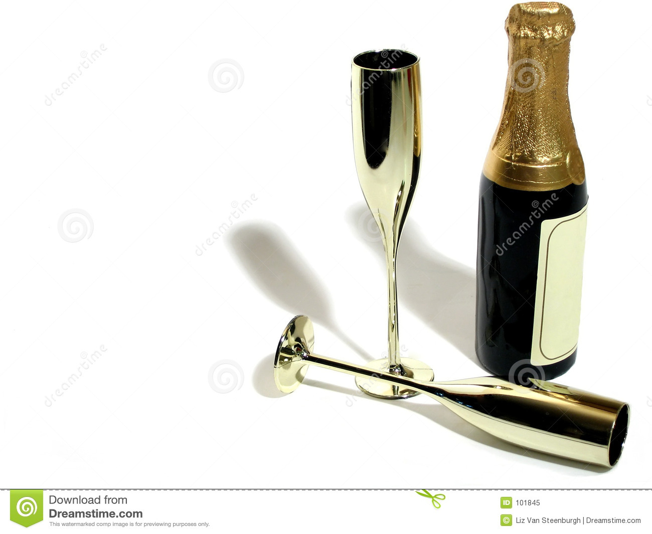 Champagne et cannelures