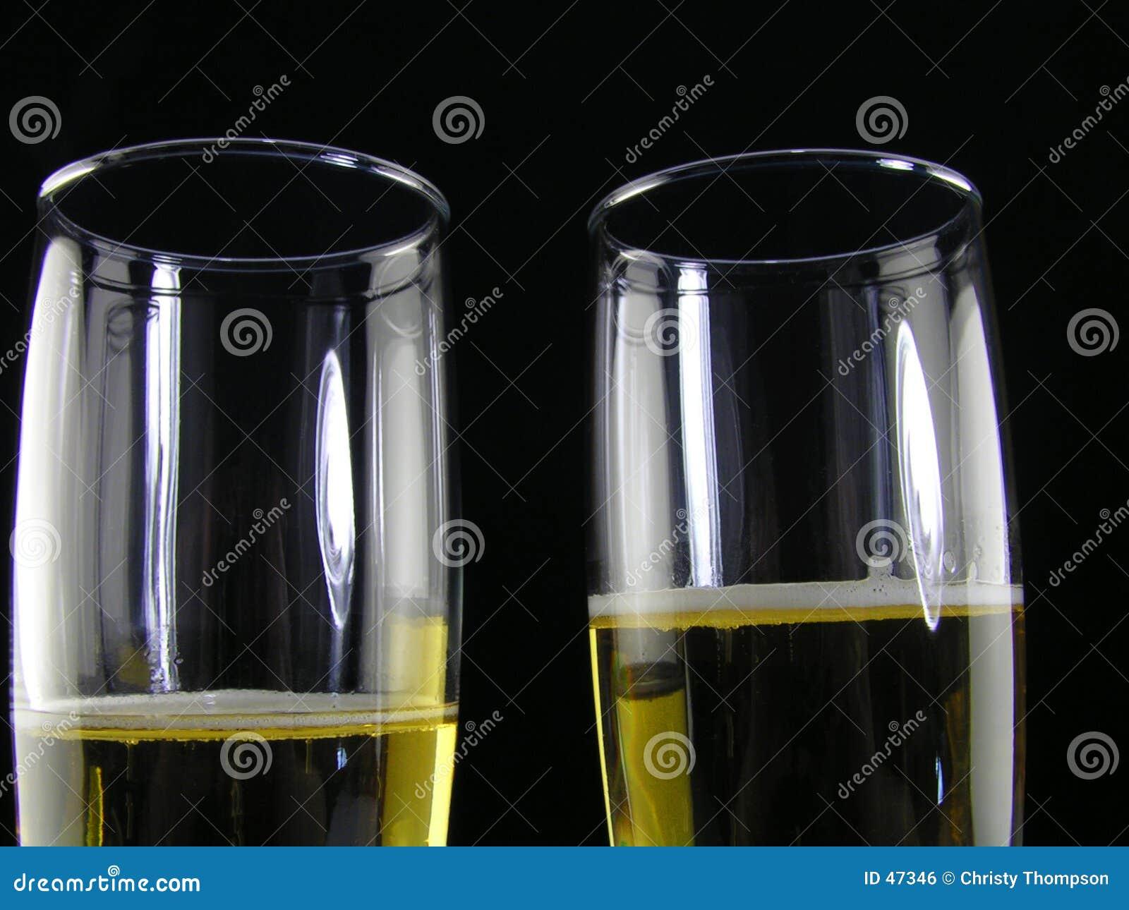 Champagne für zwei